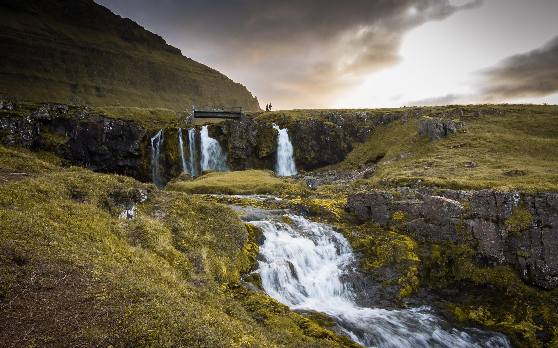 Iceland Falls Wallpaper · HD Wallpapers