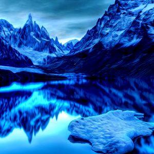 Mountain Snow Scenes