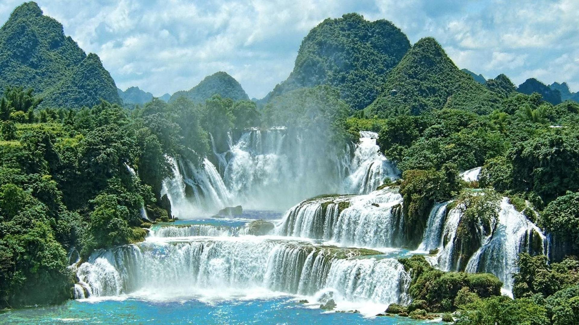 beautiful waterfall scenery wallpapers – photo #7. Screensavers Download  7Screensaverscom