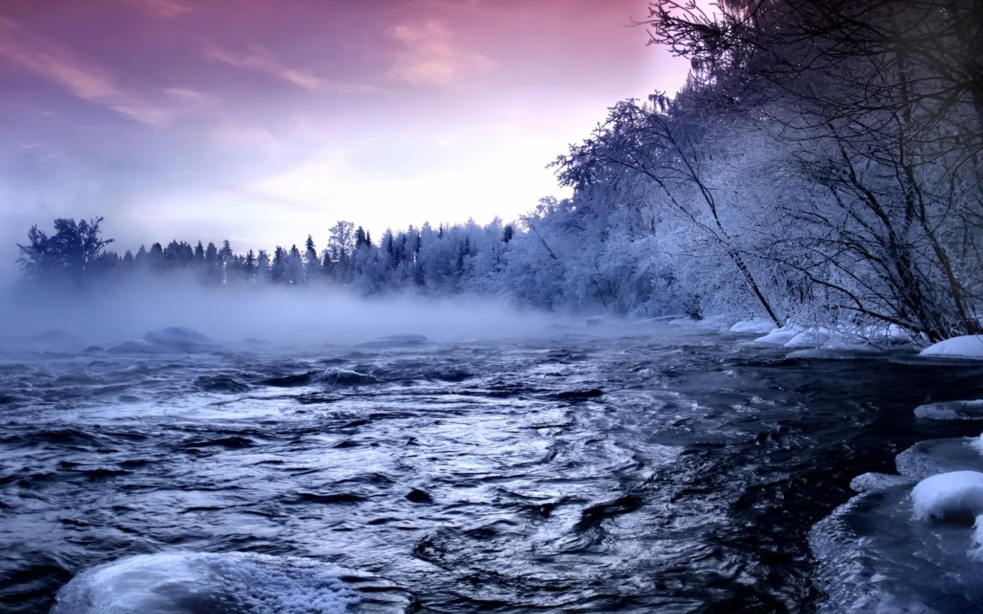 Free Microsoft Screensavers Winter Scene | Winter Scenes Scene ~ Beautiful  Winter Desktop Wallpaper, Free