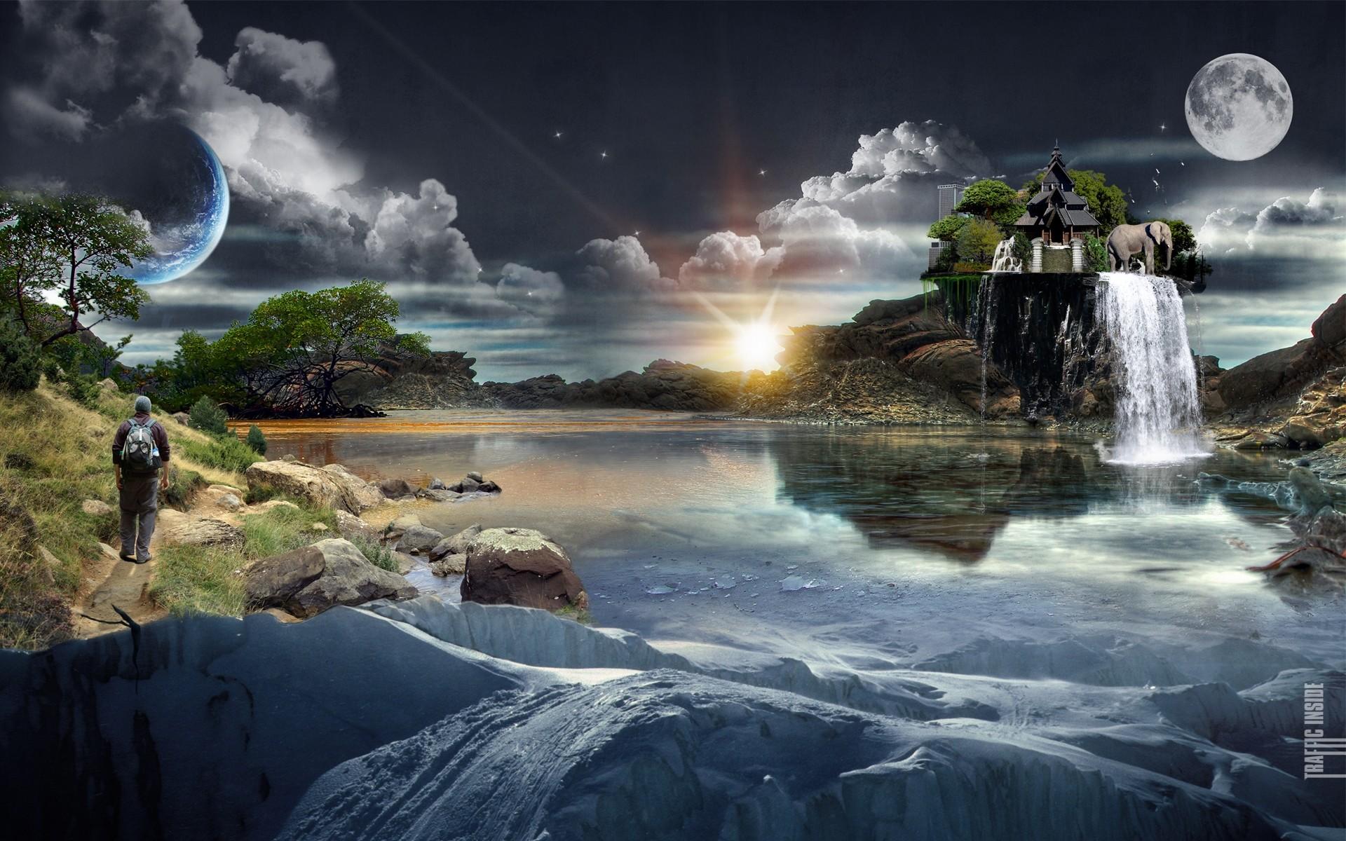 Amazing Scenery HD Wallpaper. 3D Wallpapers