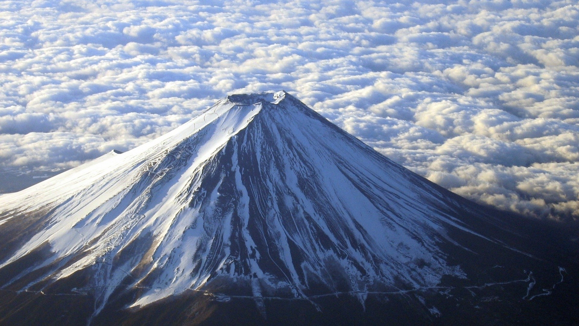 Mount Fuji Japan desktop PC and Mac wallpaper