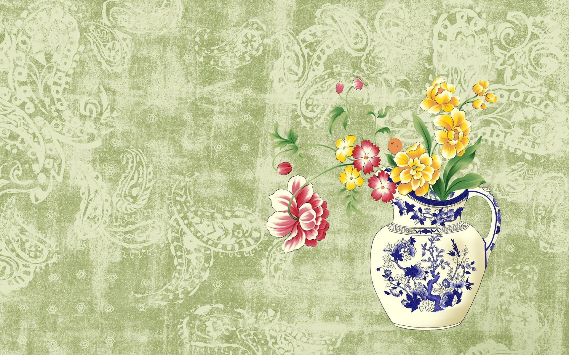 Desktop Wallpaper · Gallery · Windows 7 · Japanese-style painting .