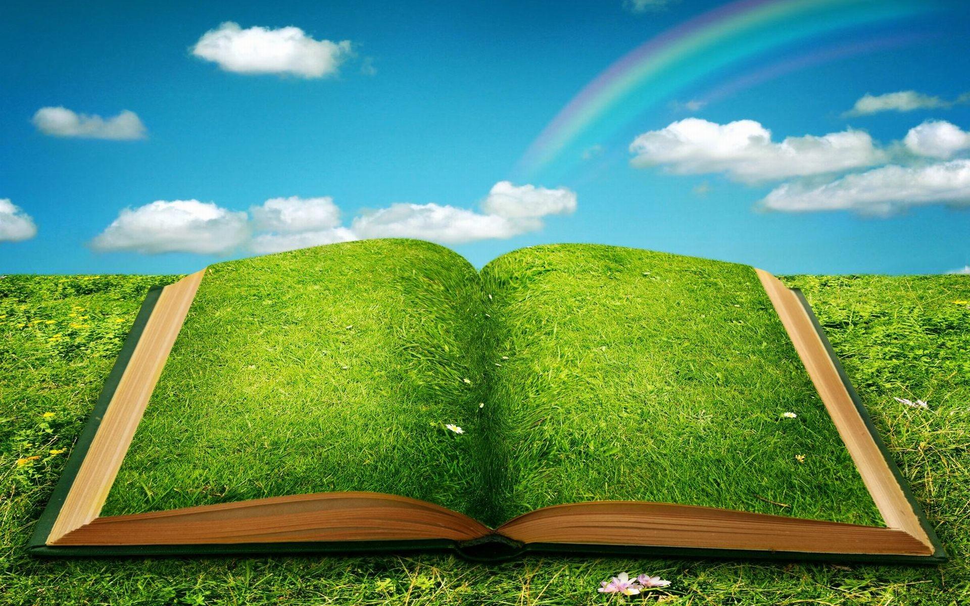 Green Book Of Dreams HD Wallpaper
