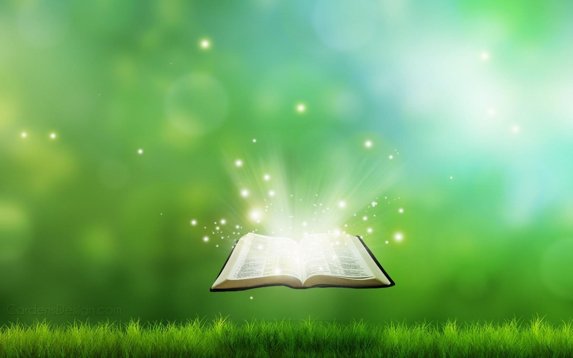 Christian Book Digital Background Wallpaper