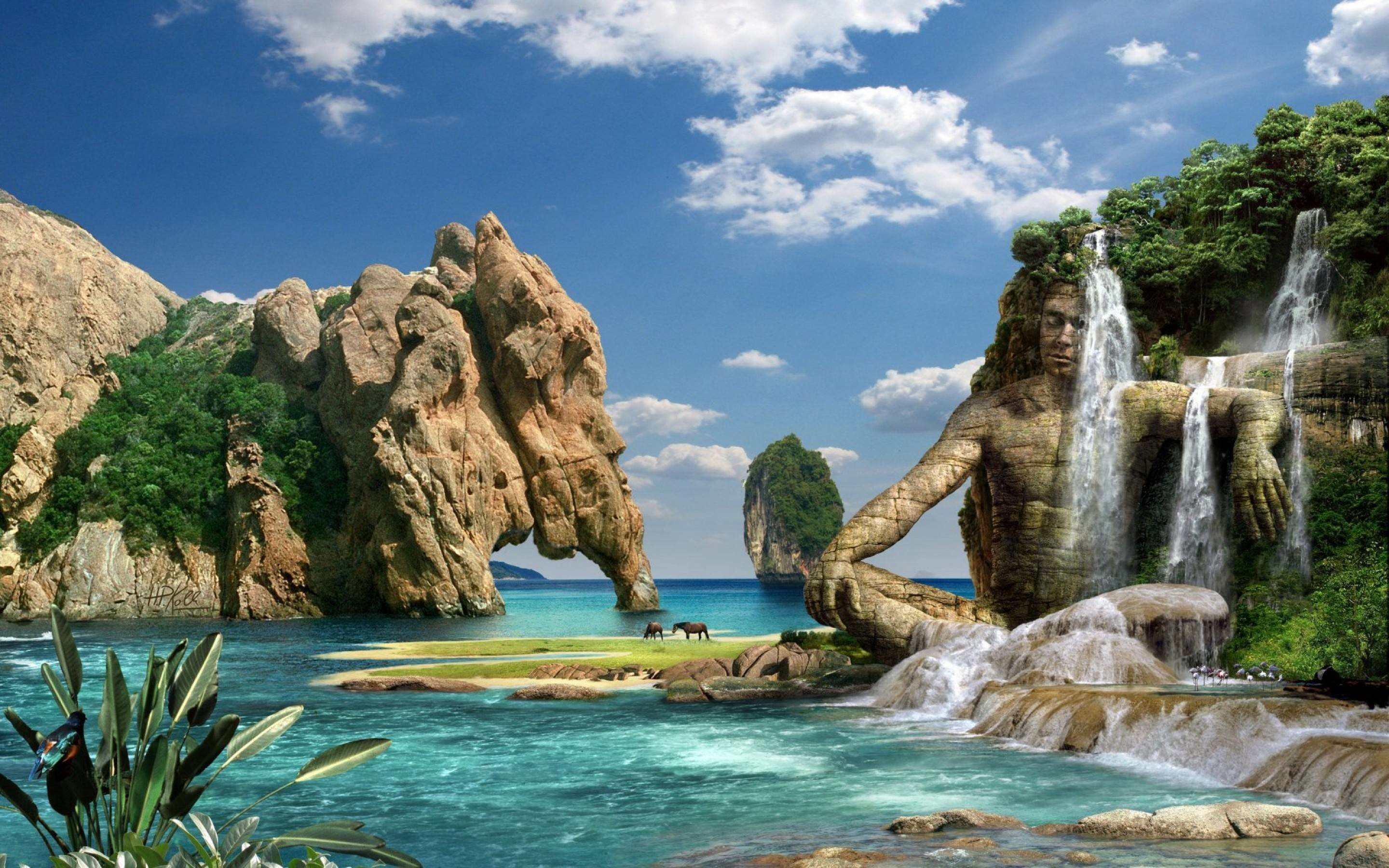 These 3D images of nature are the best of the best and make sure that you  feel relaxed