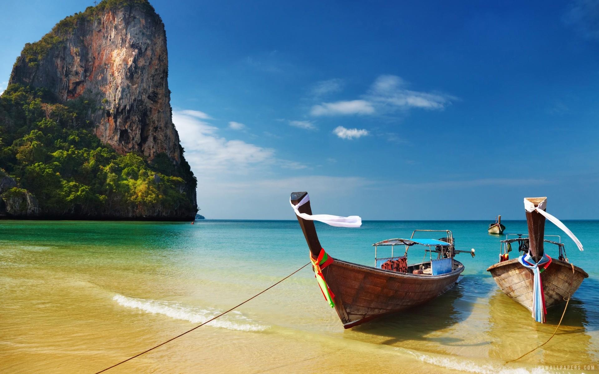 Relaxing Railay Beach Thailand Desktop Background. Download …