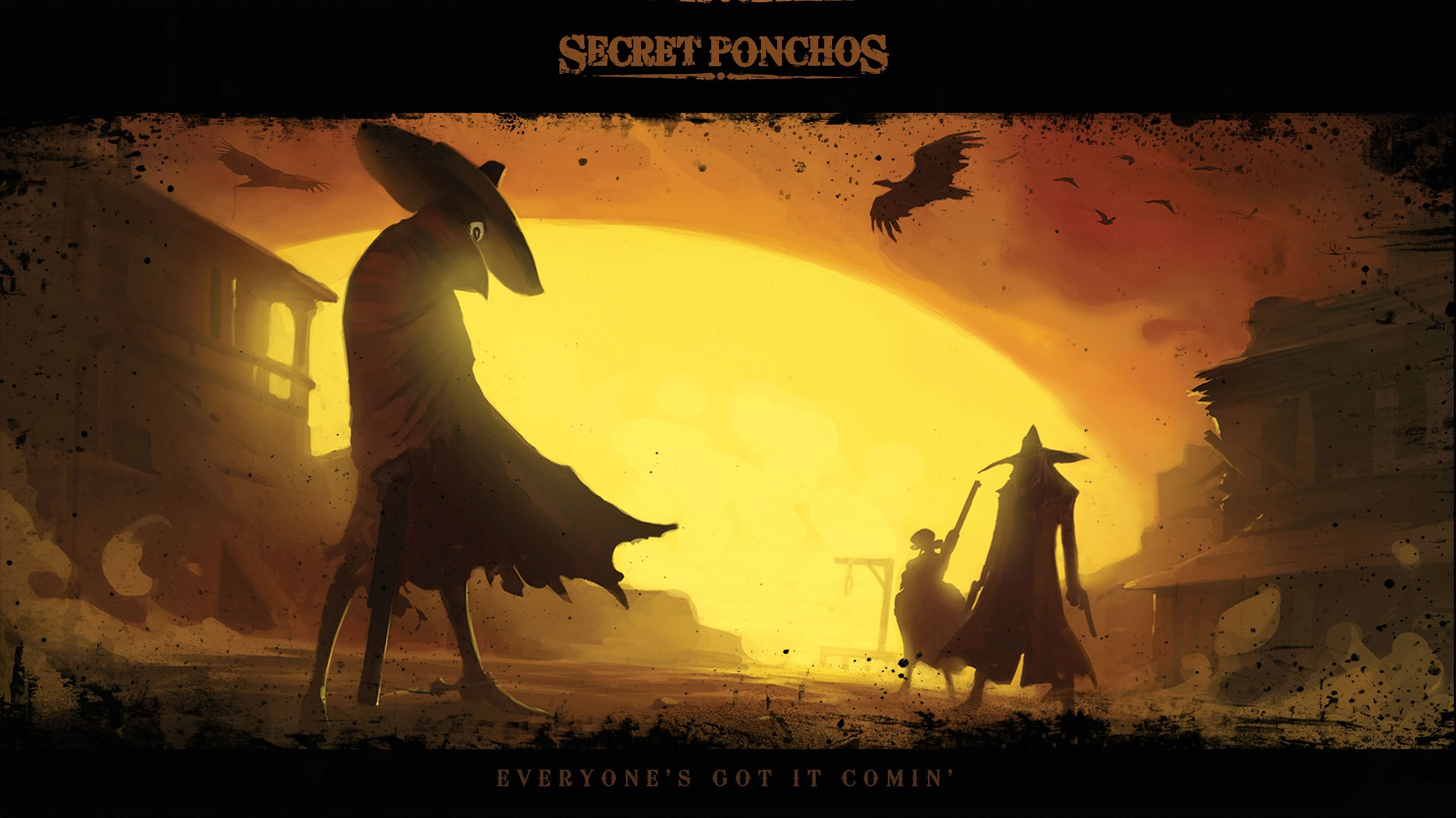 SECRET PONCHOS Spaghetti Western shooter country 1sponchos action comedy  mmo online fighting wallpaper