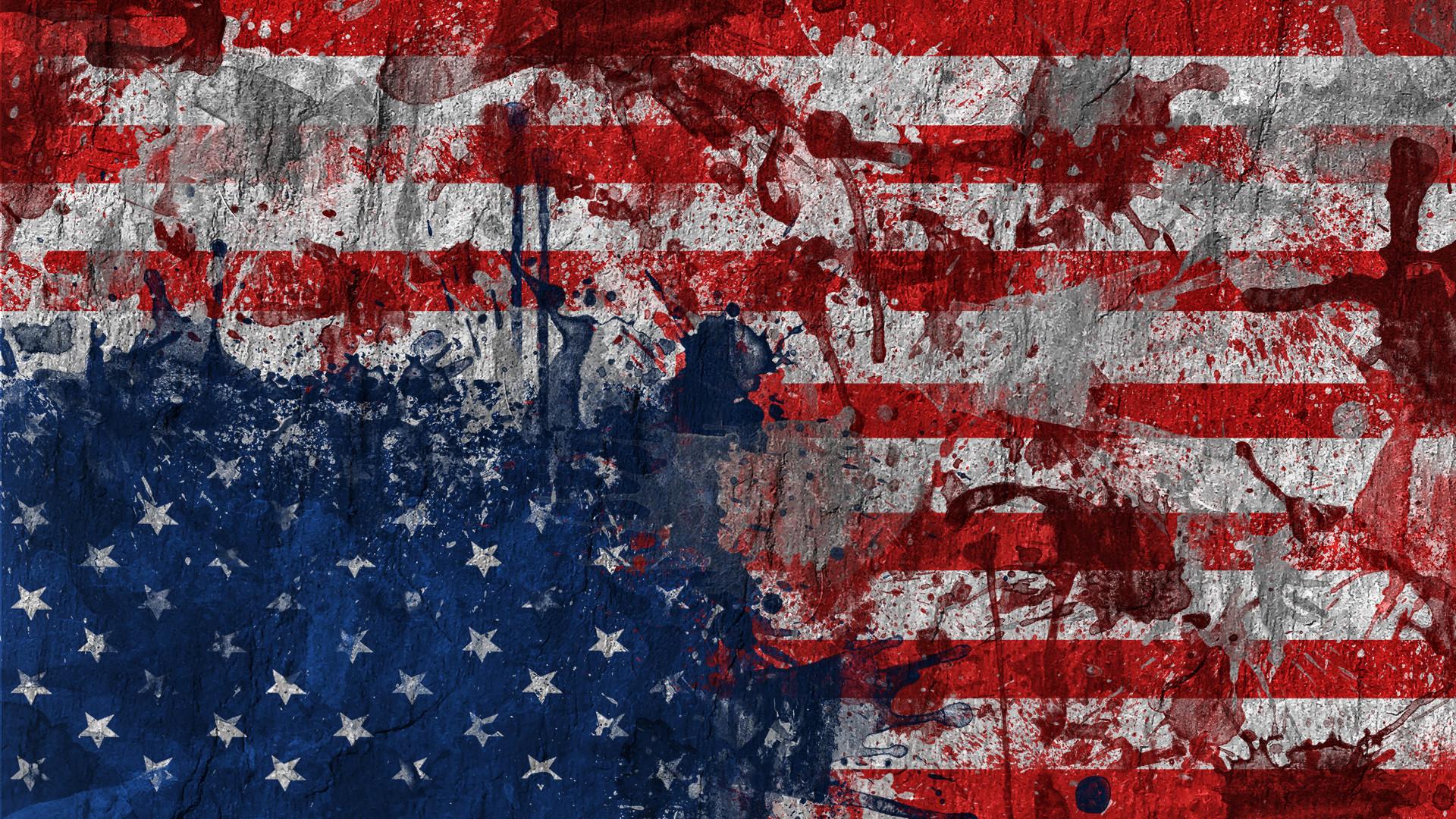 Man Made – American Flag Wallpaper