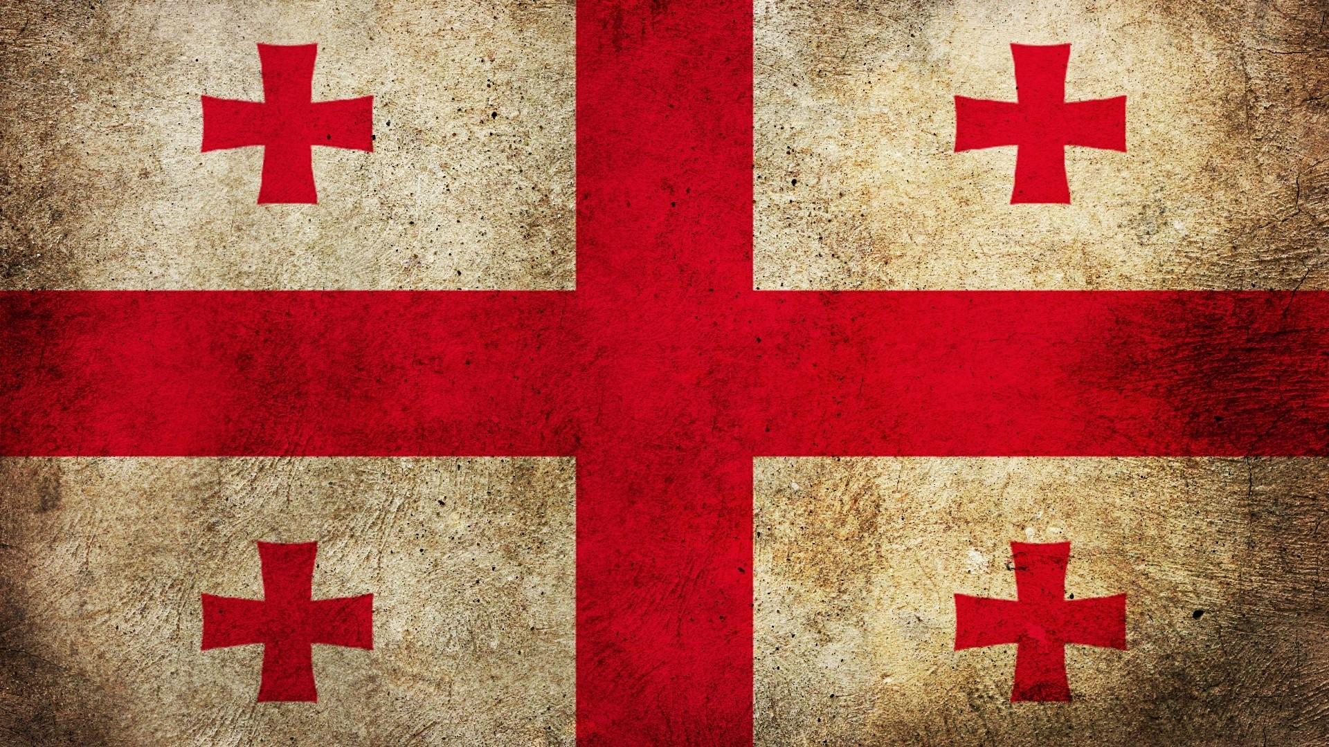 Wallpaper georgia, flag, mud, texture, pattern, symbol, surface