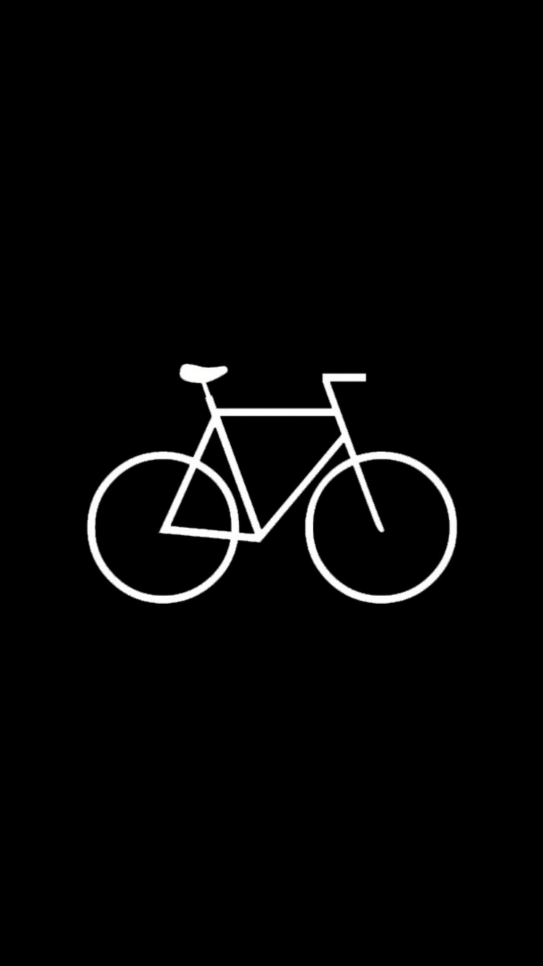 Flat Simple Bicycle Hipster iPhone 6 Plus HD Wallpaper …