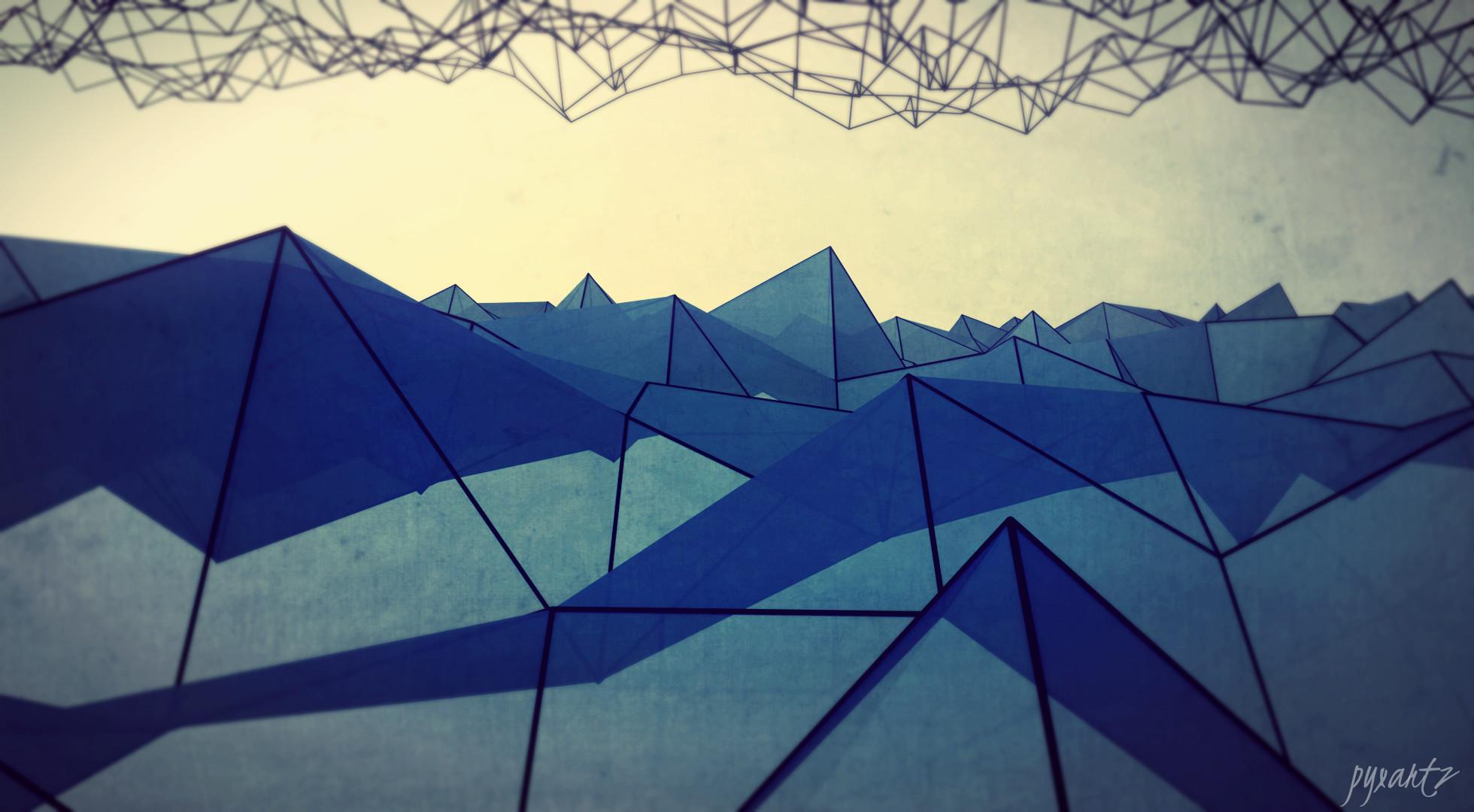 Theme Bin» Blog Archive » Abstract Polygons HD Wallpaper
