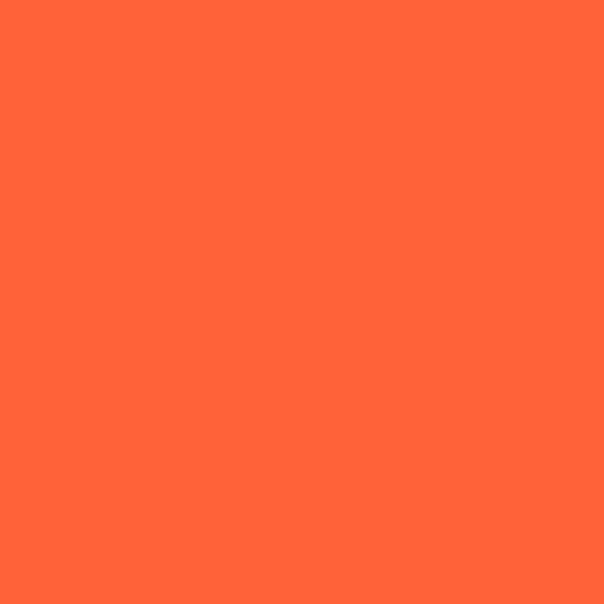 Tangerine Orange Simple Flat iPad Wallpaper HD