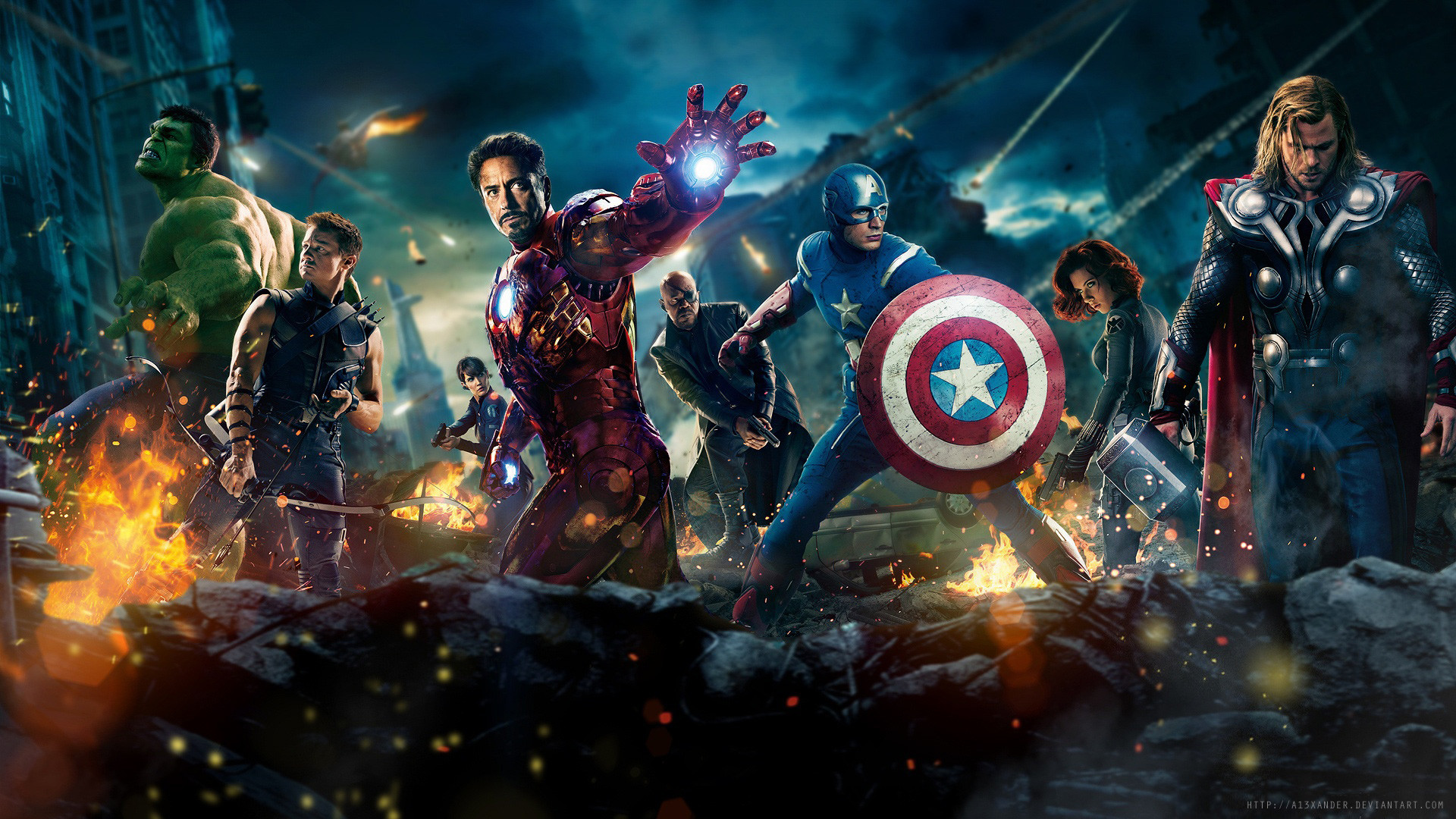 0 Cool HD Desktop Wallpapers Categories Download Iron Man  Avengers The Movie Full Wallpaper .