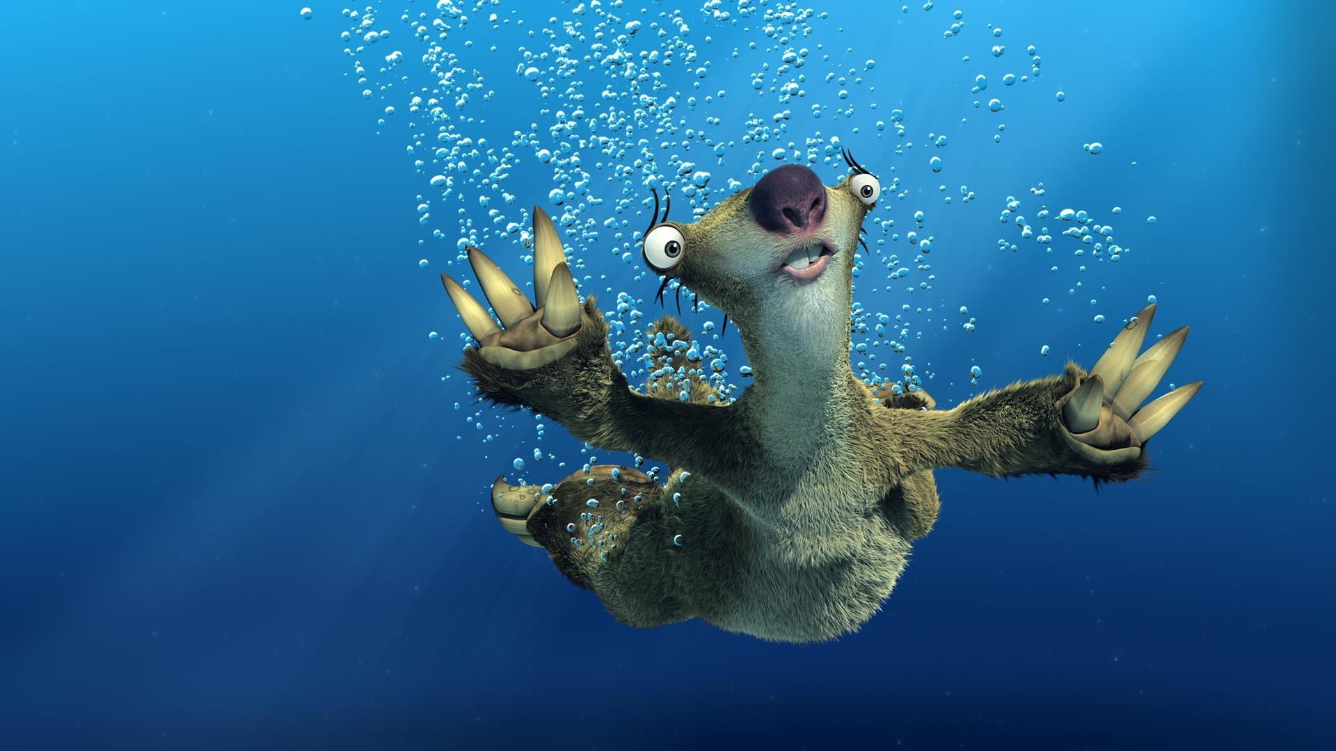 Ice Age – Sloth HD Wallpaper. Â«