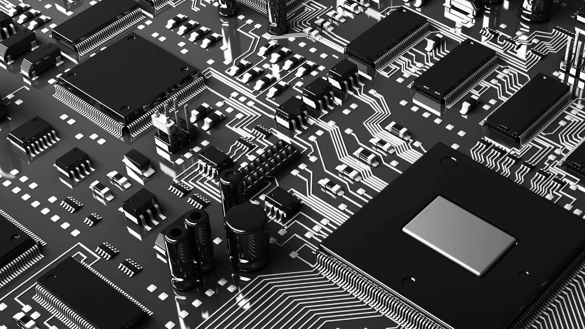 Circuitboard HD Wallpaper. « »