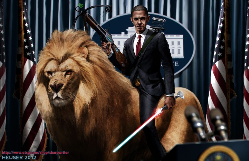 7 Badass Digital Art Wallpapers of United States Presidents | DigitalArt.io