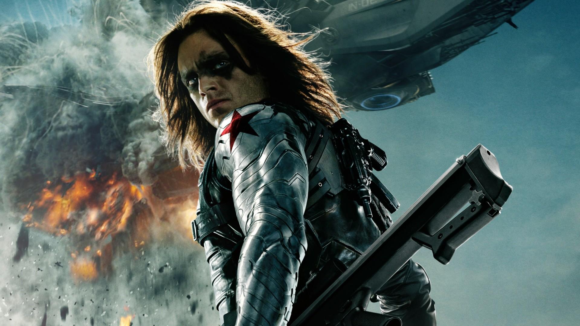 Captain America The Winter Soldier Bucky HD desktop wallpaper