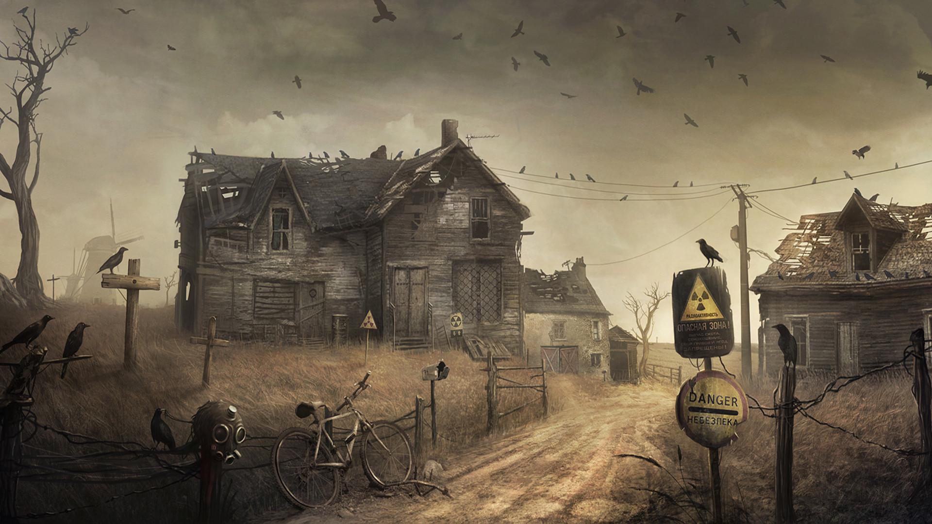 Post Apocalyptic Full HD Wallpaper 1920×1080