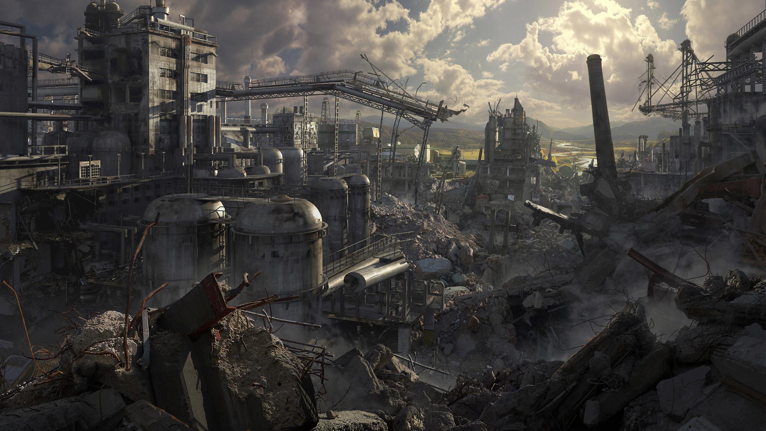 HD Wallpaper | Background ID:202508. Sci Fi Post Apocalyptic. 10  Like