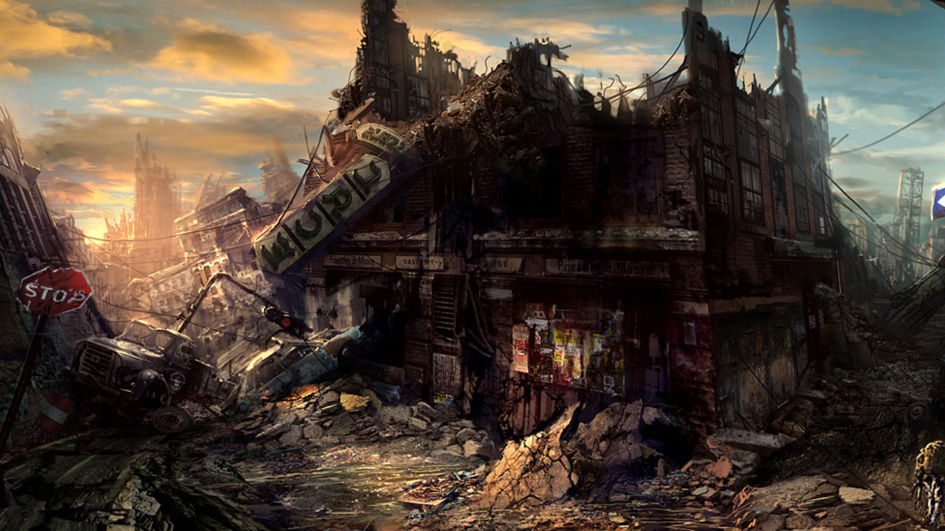 Sci Fi – Post Apocalyptic Wallpaper | Post-Apocalyptia | Pinterest | Post  apocalyptic, Sci fi and Wallpaper