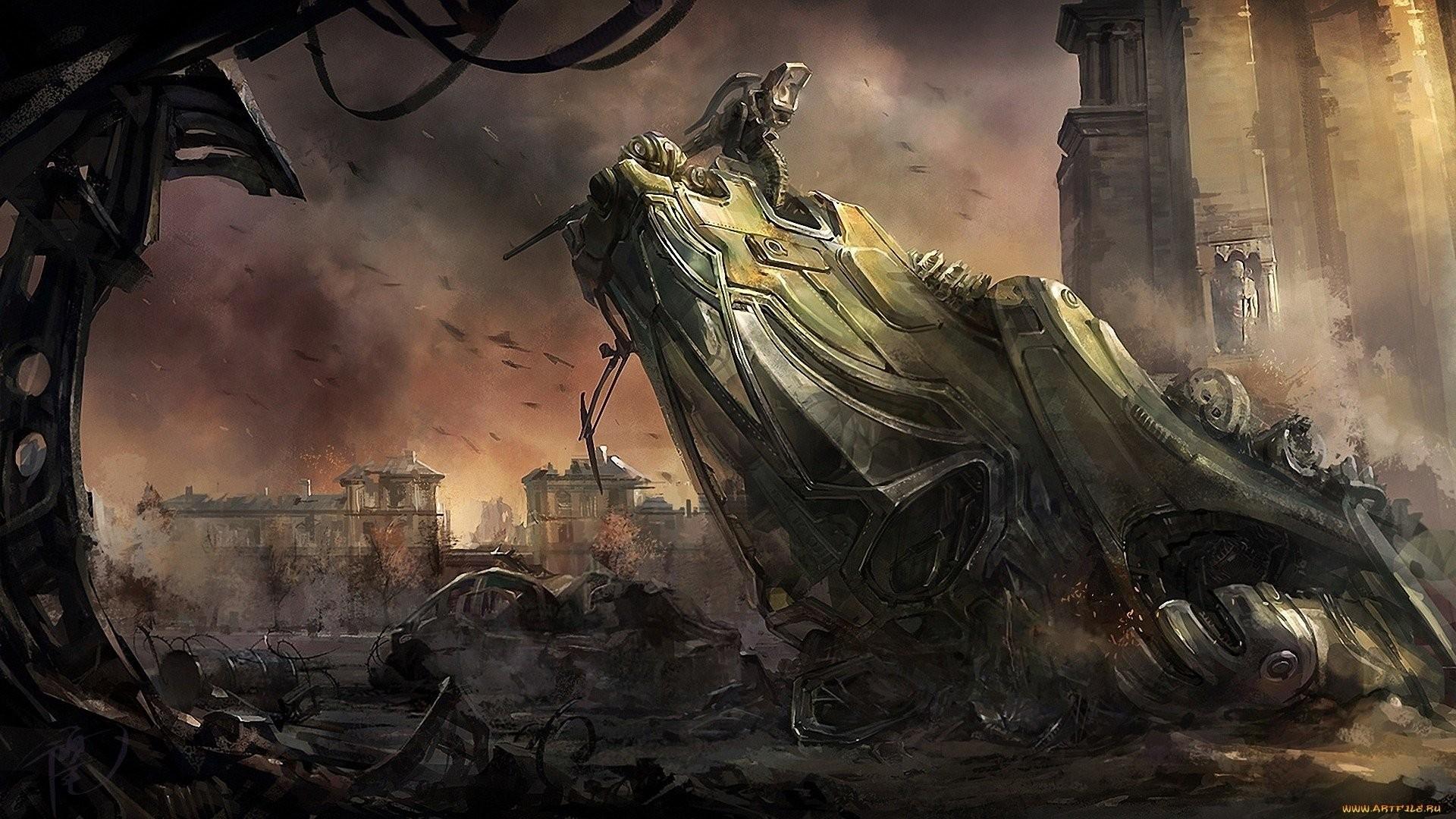 HD Wallpaper | Background ID:309429. Sci Fi Post Apocalyptic. 3  Like