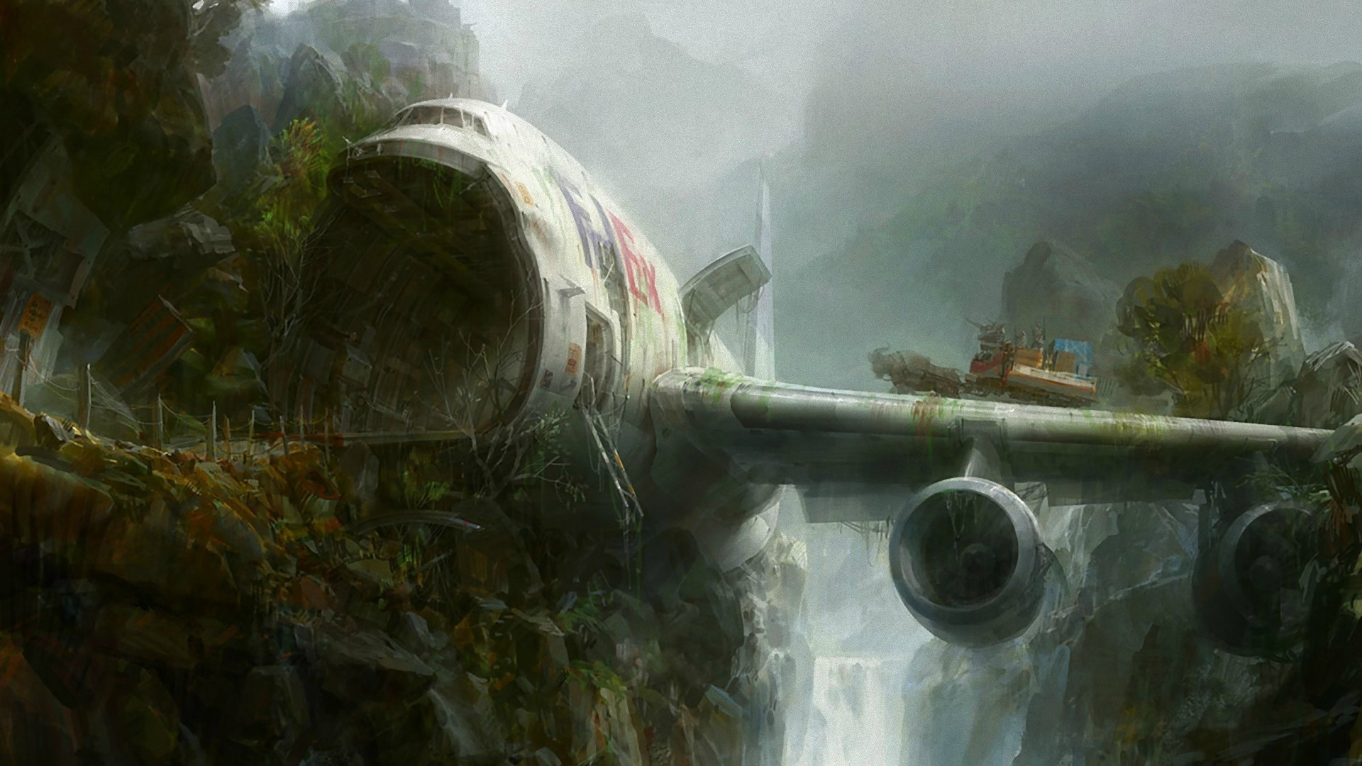 Wallpapers: Derelict Things. Post ApocalypseHd …