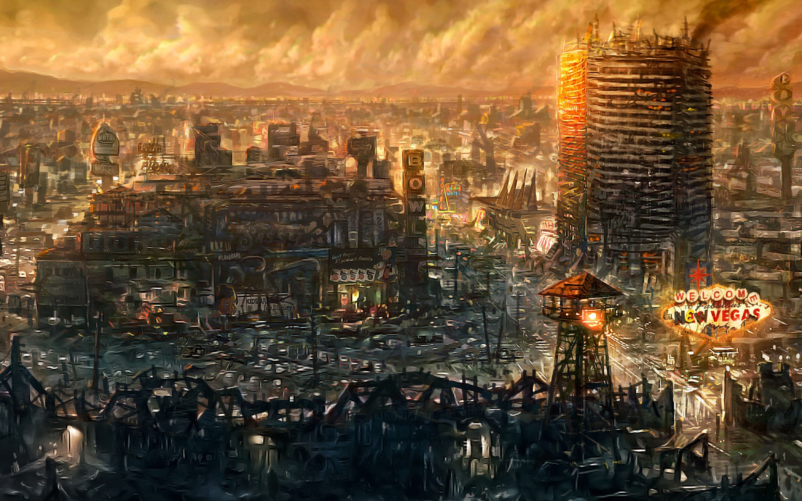 Sci Fi – Post Apocalyptic Wallpaper #TheASGproject
