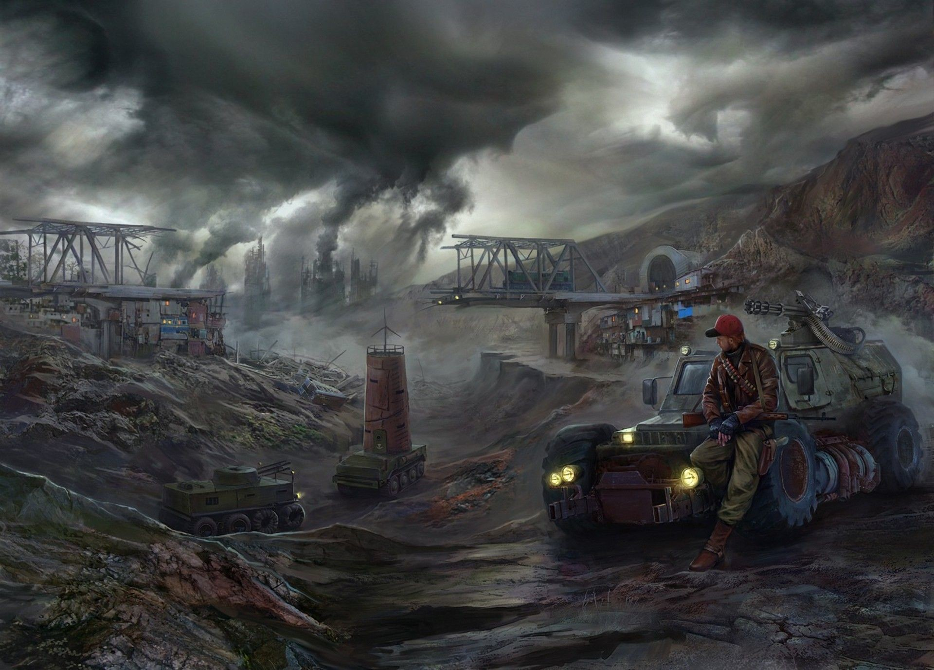 Post Apocalyptic Wallpapers April
