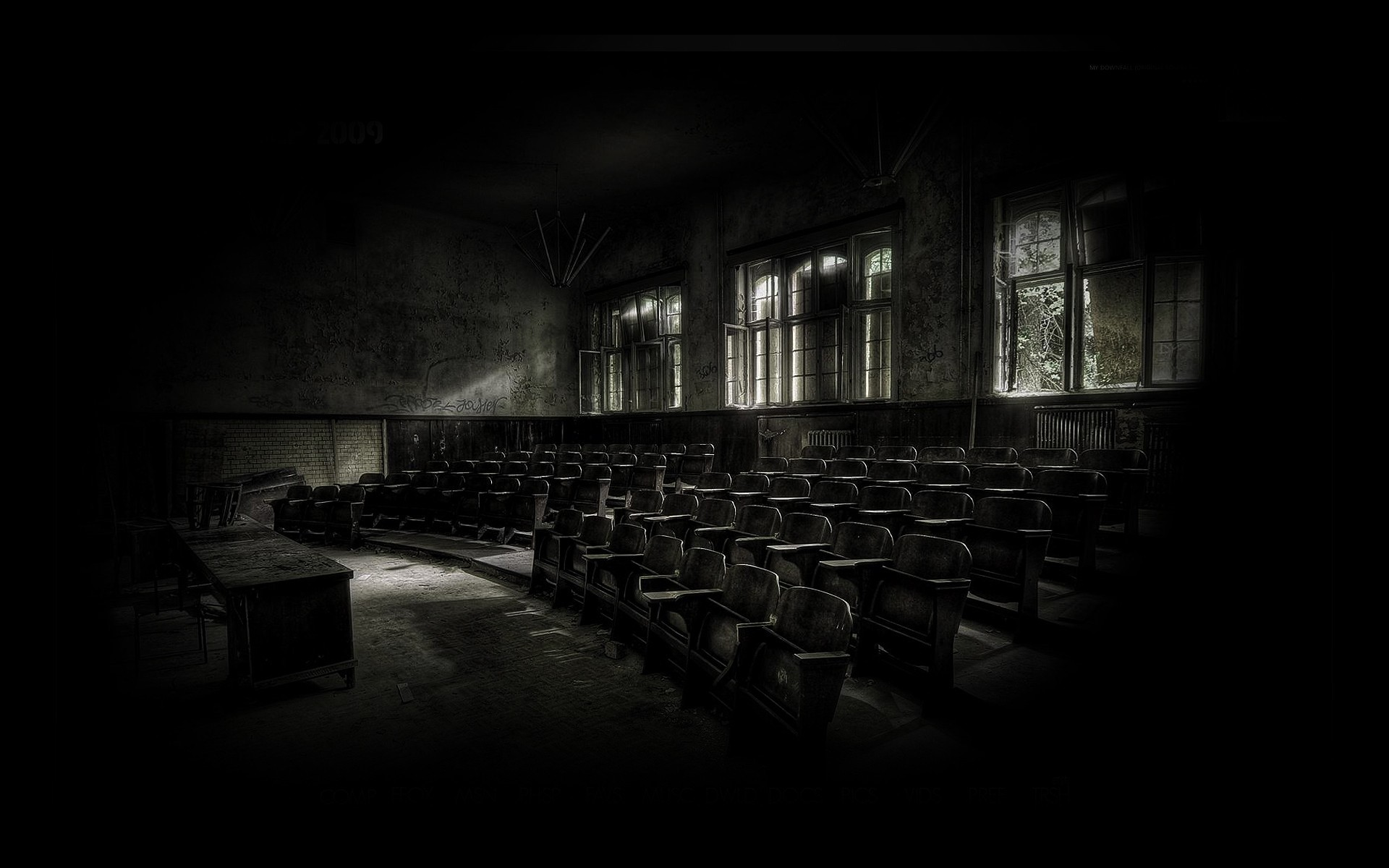 Sci Fi – Post Apocalyptic Abandoned Decay Wallpaper