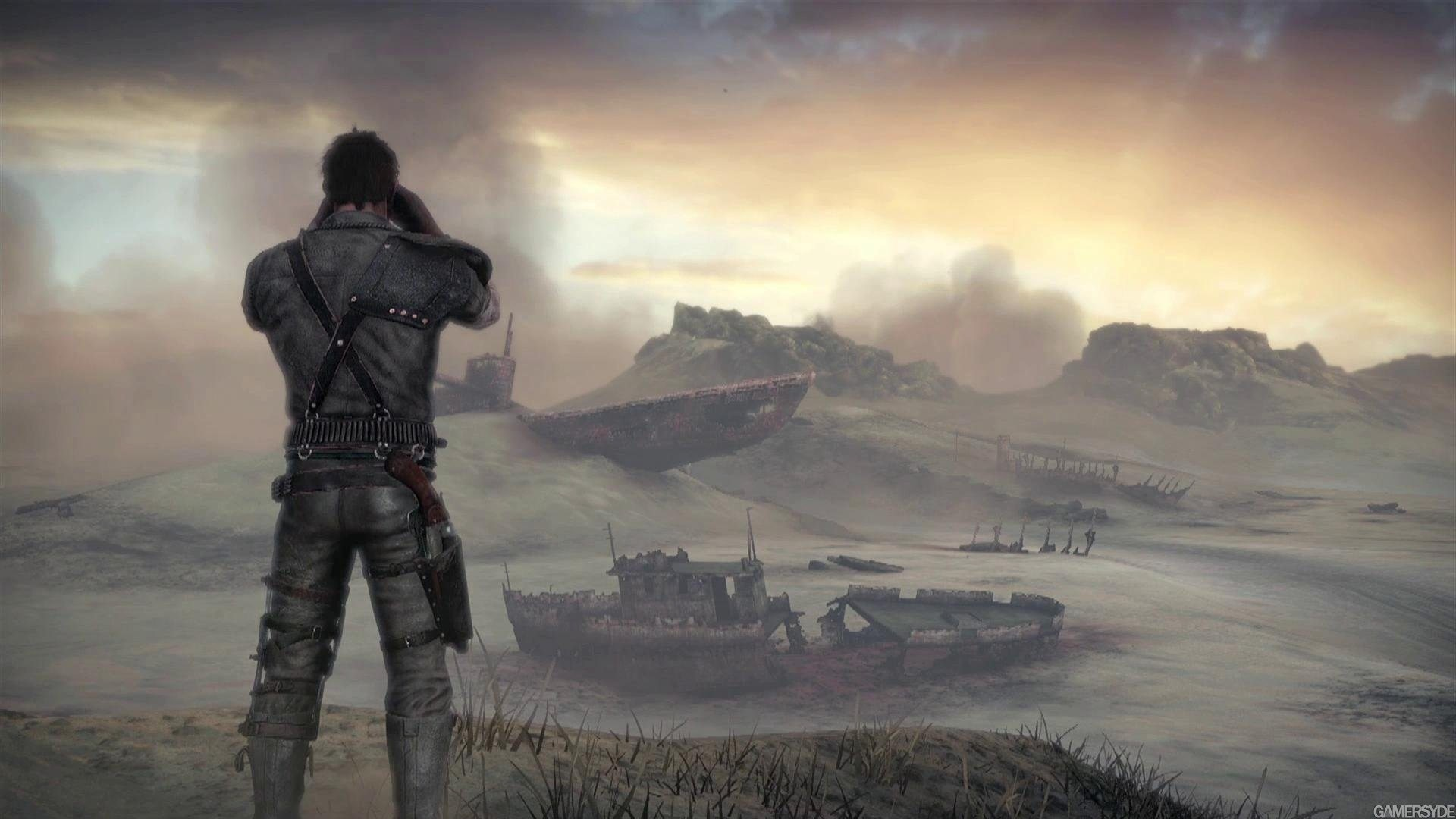 a Mad Max wallpaper: a Mad Max wallpaper.  Metro_2033_Soldiers_Warriors_Last_Light_Games_Fantasy_sci_fi_apocalyptic_1920x1200