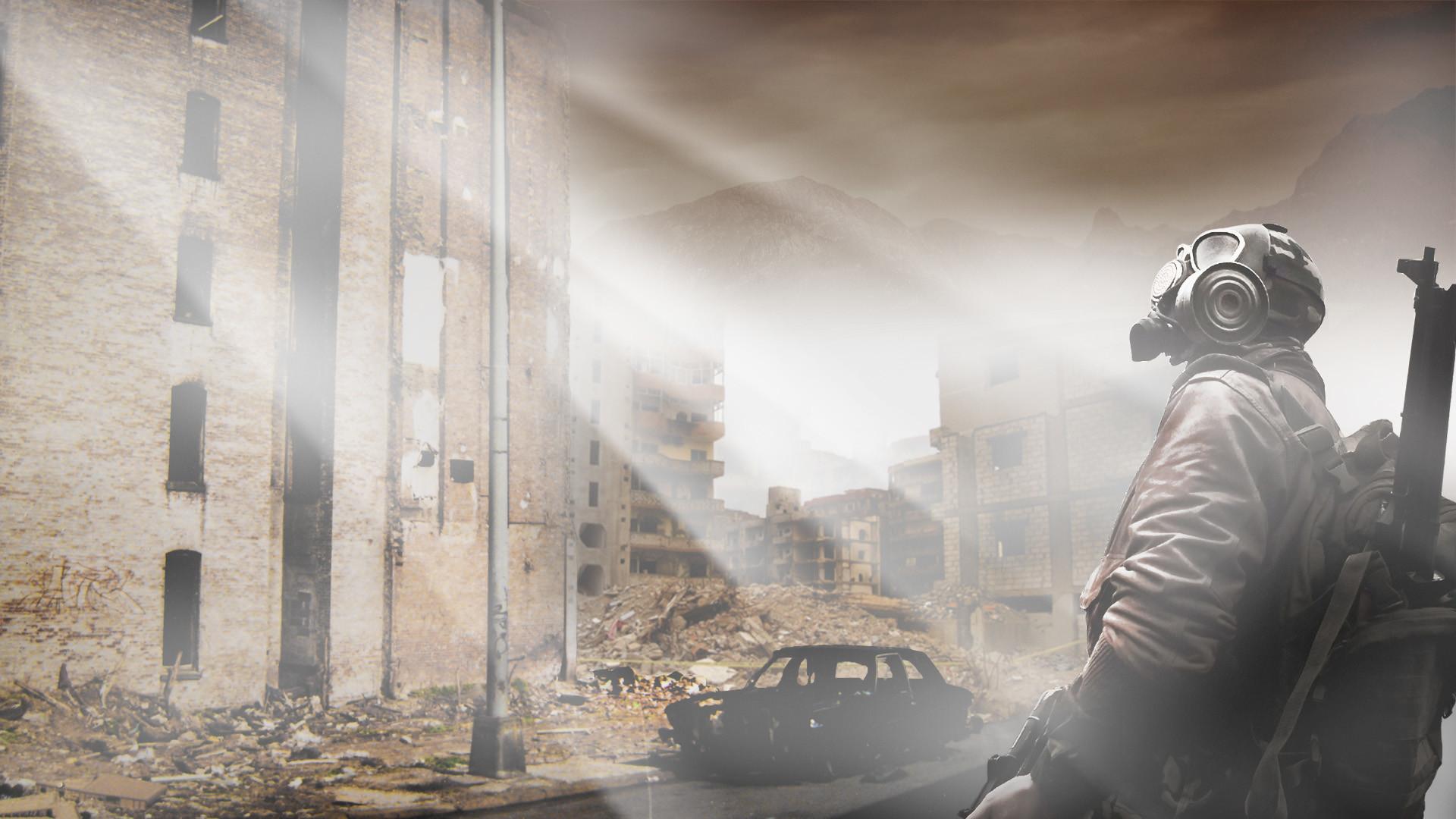 Sci Fi – Post Apocalyptic Apocalypse Gas Mask Mask Wallpaper