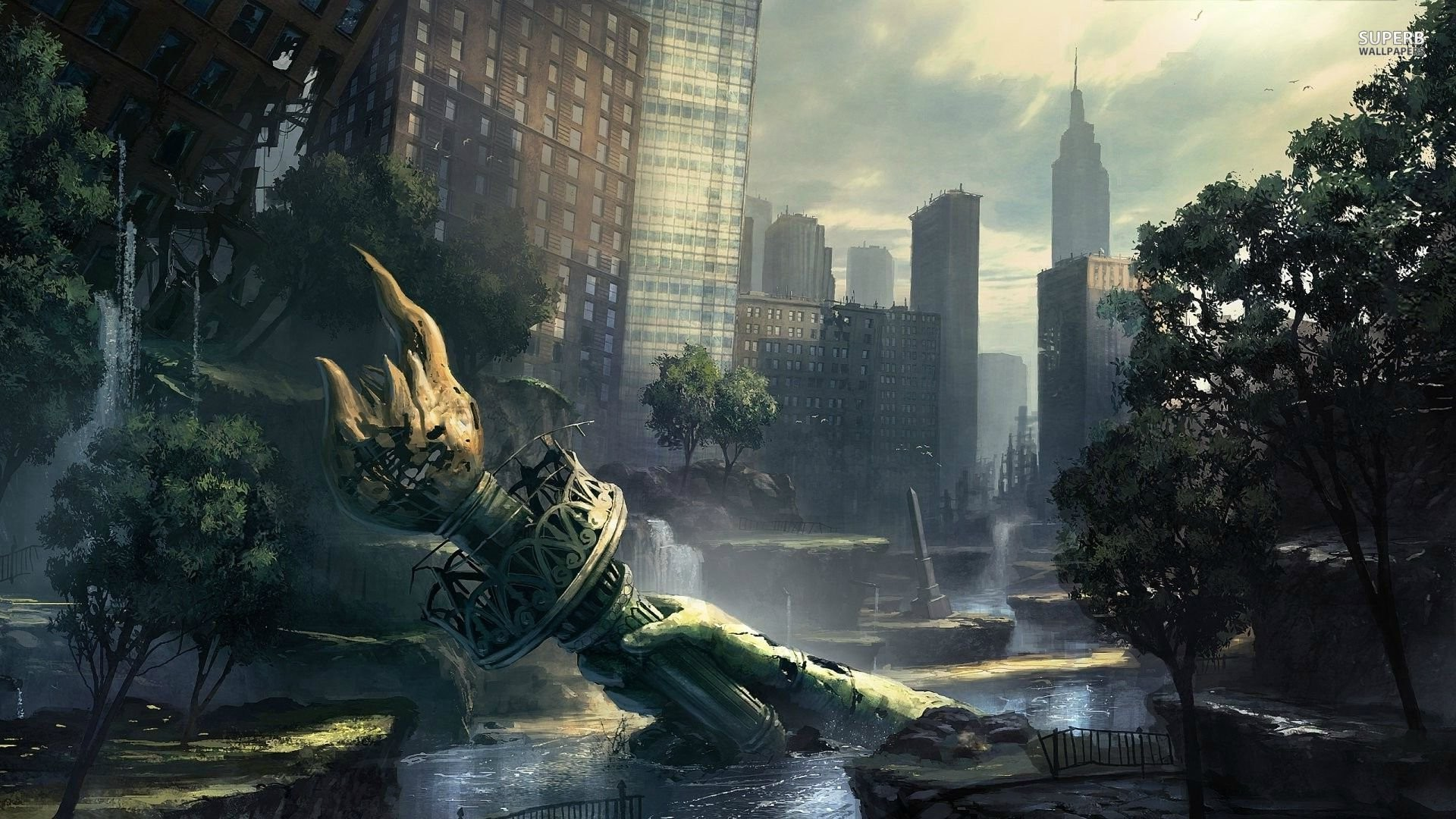 39 Fantastic Post Apocalypse Wallpapers And Artworks Web
