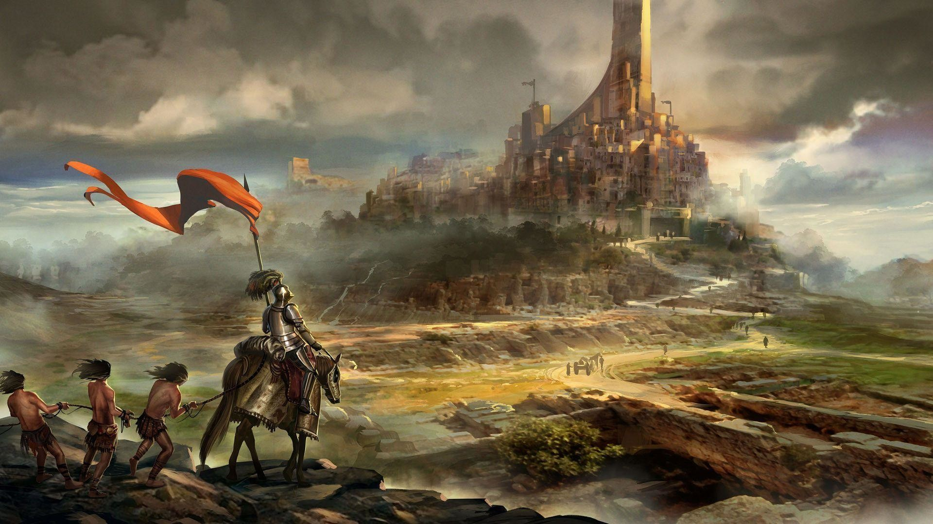 Images For > Medieval Knights Wallpaper