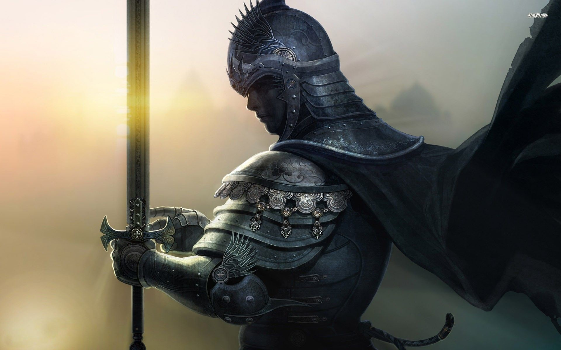 Medieval knight wallpaper – Fantasy wallpapers – #8147
