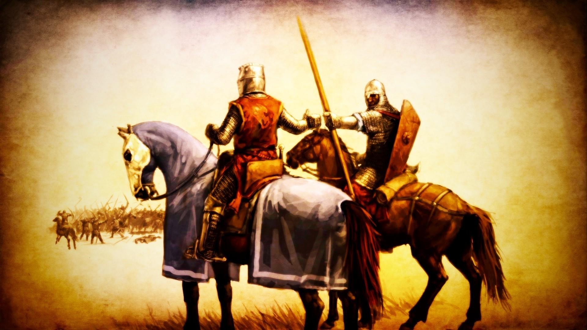 medieval knights horse battle warrior artwork spear Wallpapers HD / Desktop  and Mobile Backgrounds