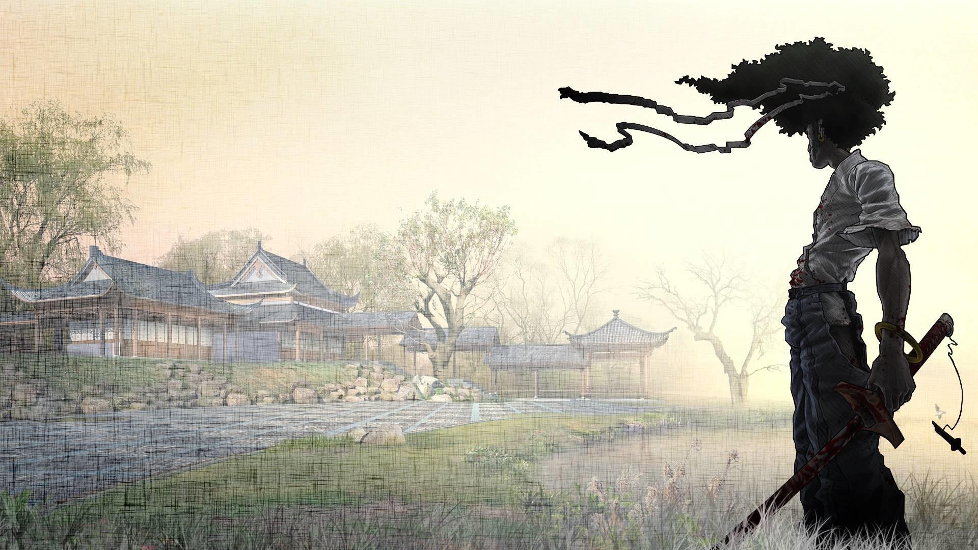 Afro Samurai Wallpaper Free Download – cartoon Hd wallpapers