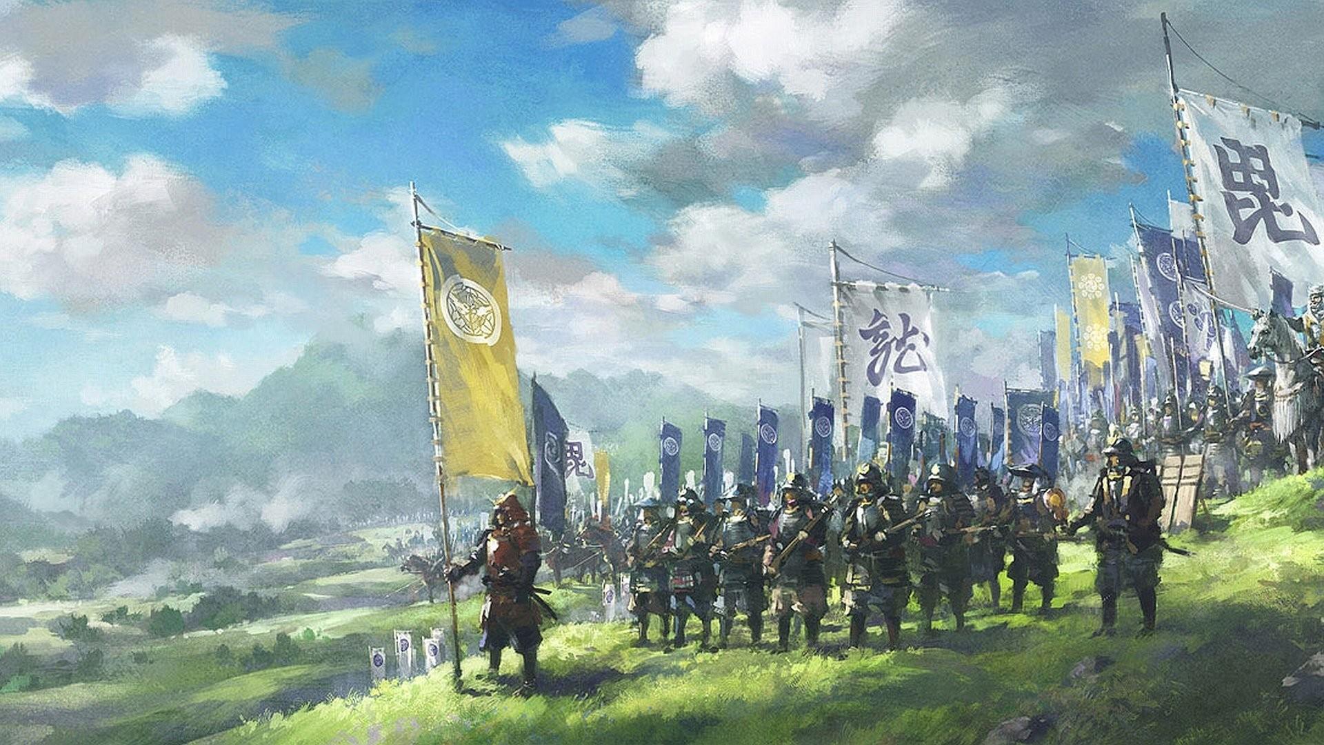 Fantasy – Samurai Wallpaper