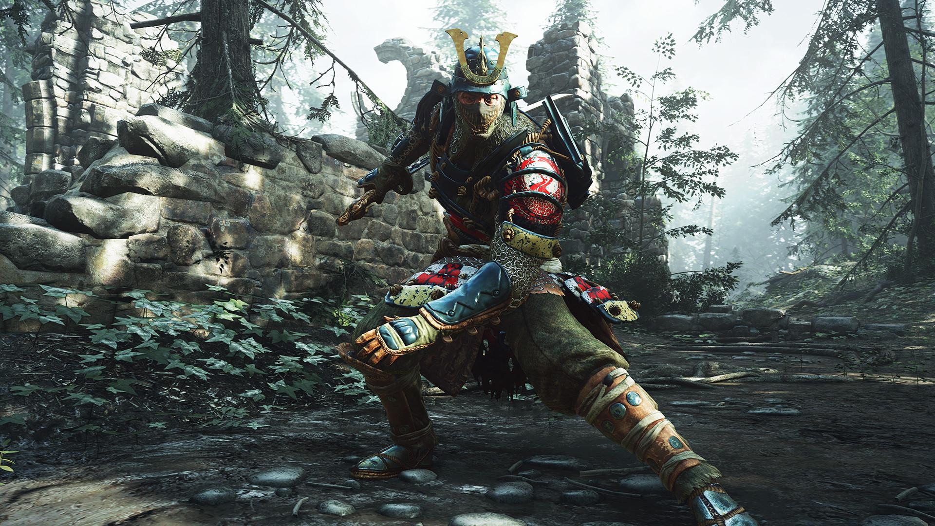 Video Game – For Honor For Honor (Video Game) Samurai Bakgrund