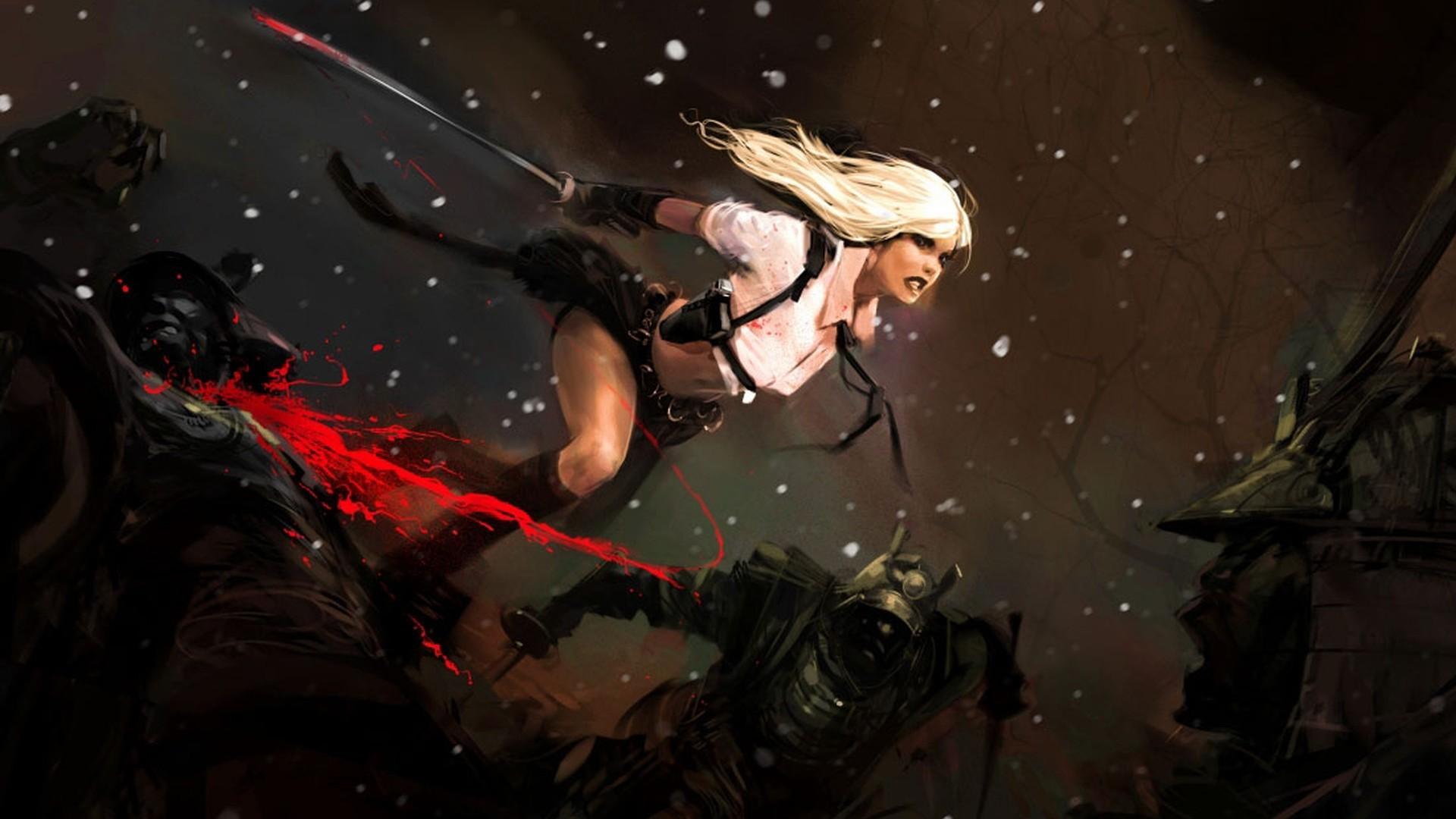 Fantasy – Samurai Bakgrund