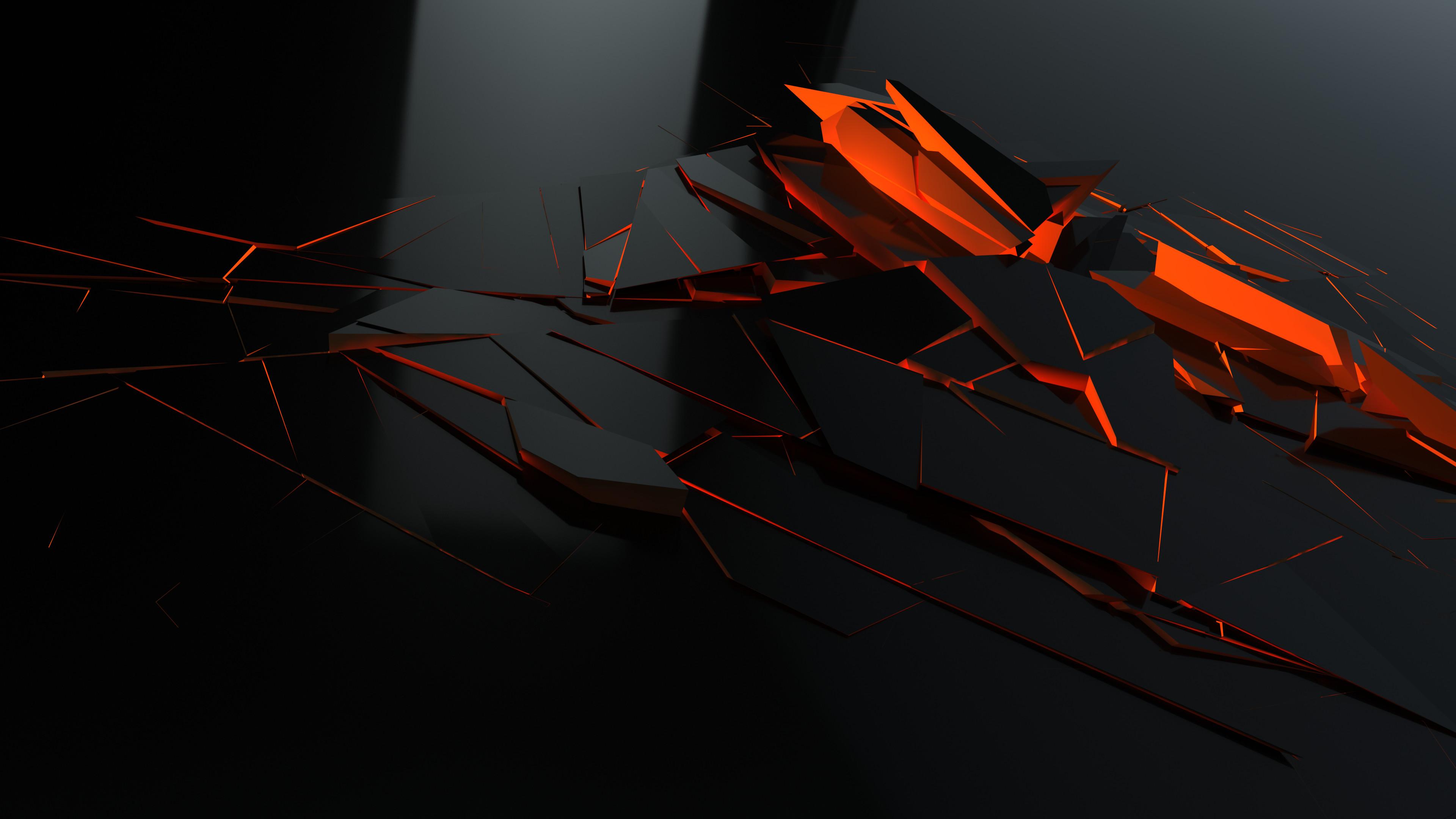 Download <b>Wallpaper</b> 3840×2400 Abstract, <b>Black