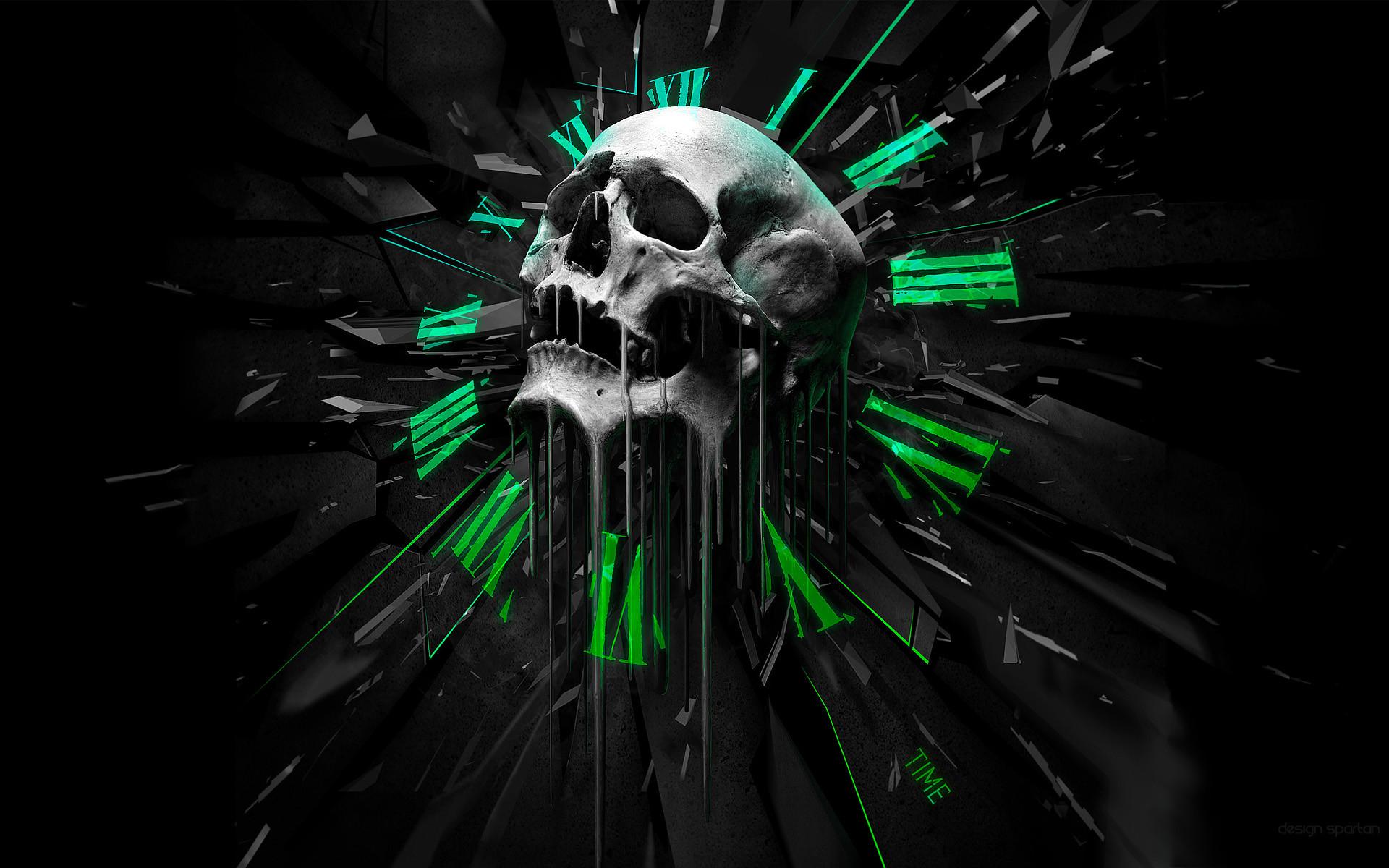 Time skull • meh.ro
