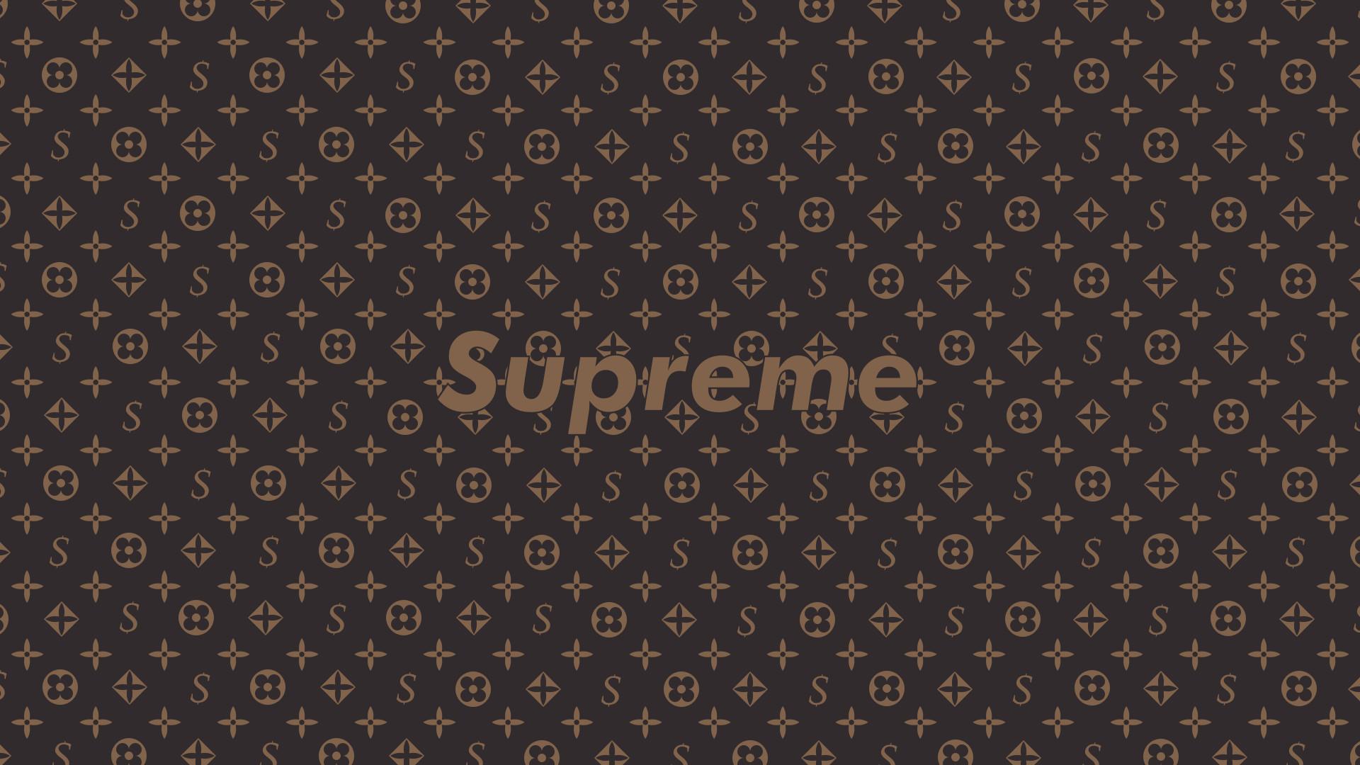 Some Supreme x LV Wallpapers I made