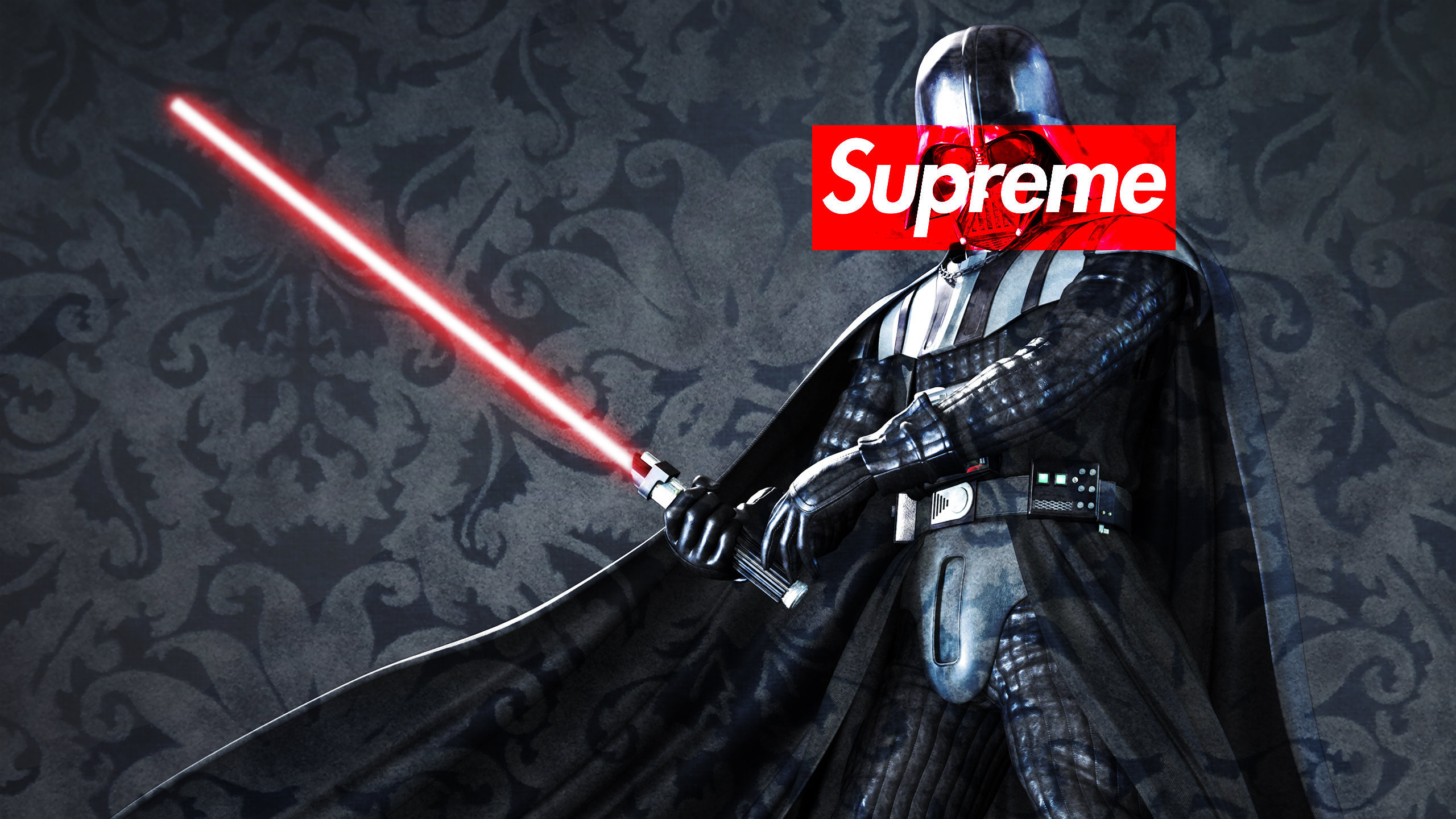 Download the Darth Vader Supreme wallpaper below for your mobile device  (Android phones, iPhone etc.)