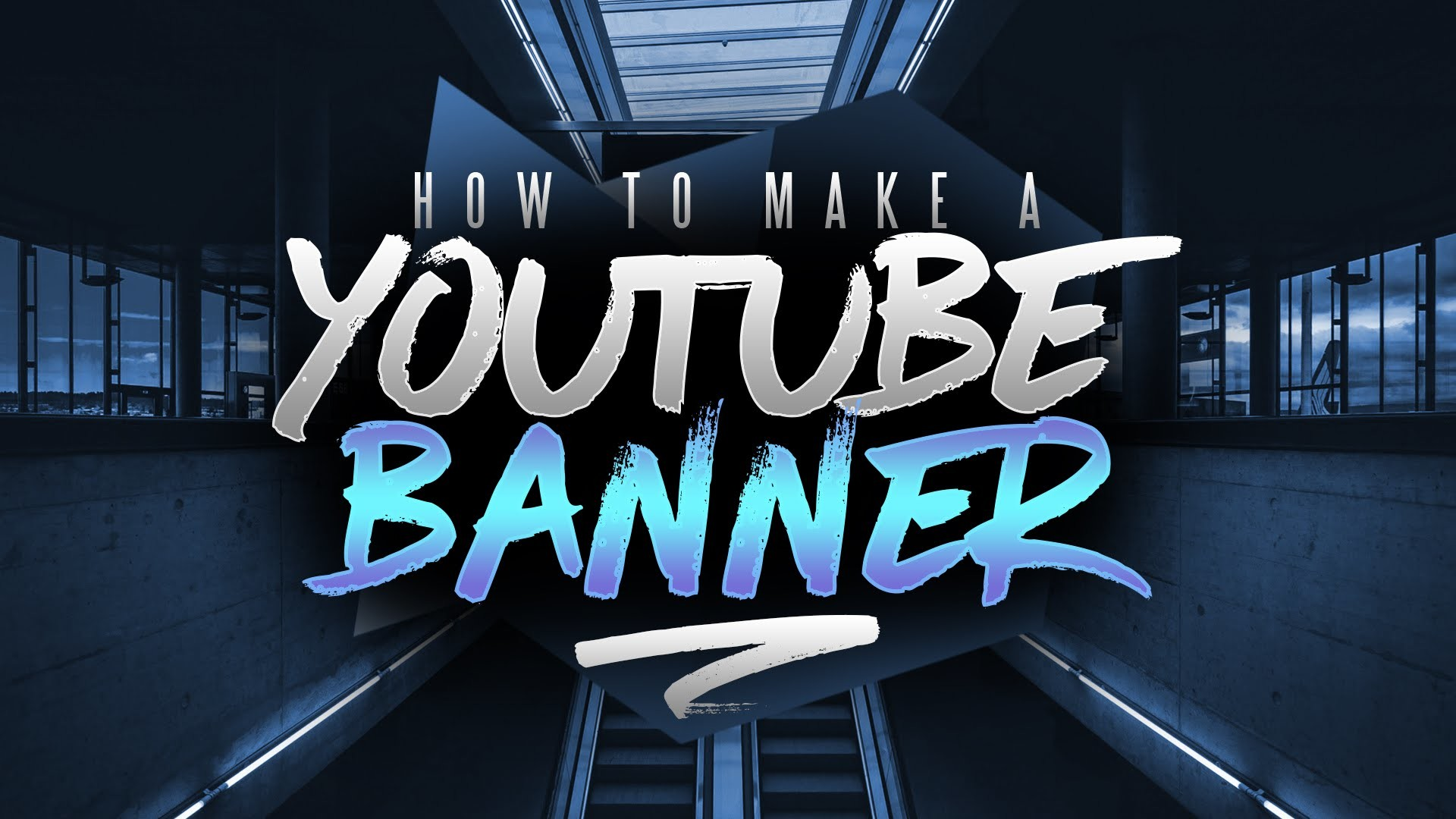 How to Make a YouTube Banner in Photoshop! Channel Art Tutorial (2016/2017)  – YouTube
