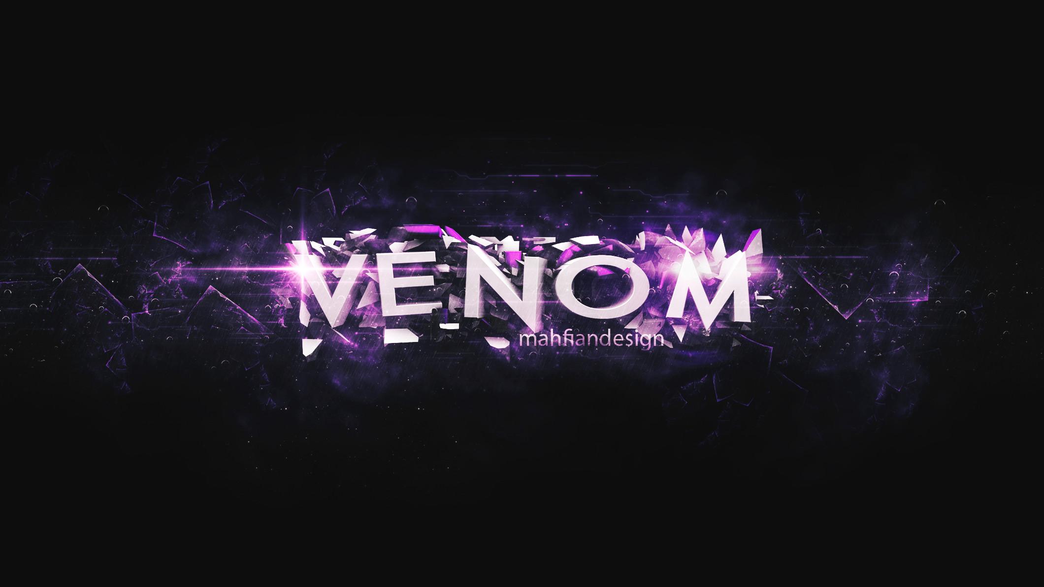 Venom Youtube Channel Art by VintagePeon Venom Youtube Channel Art by  VintagePeon