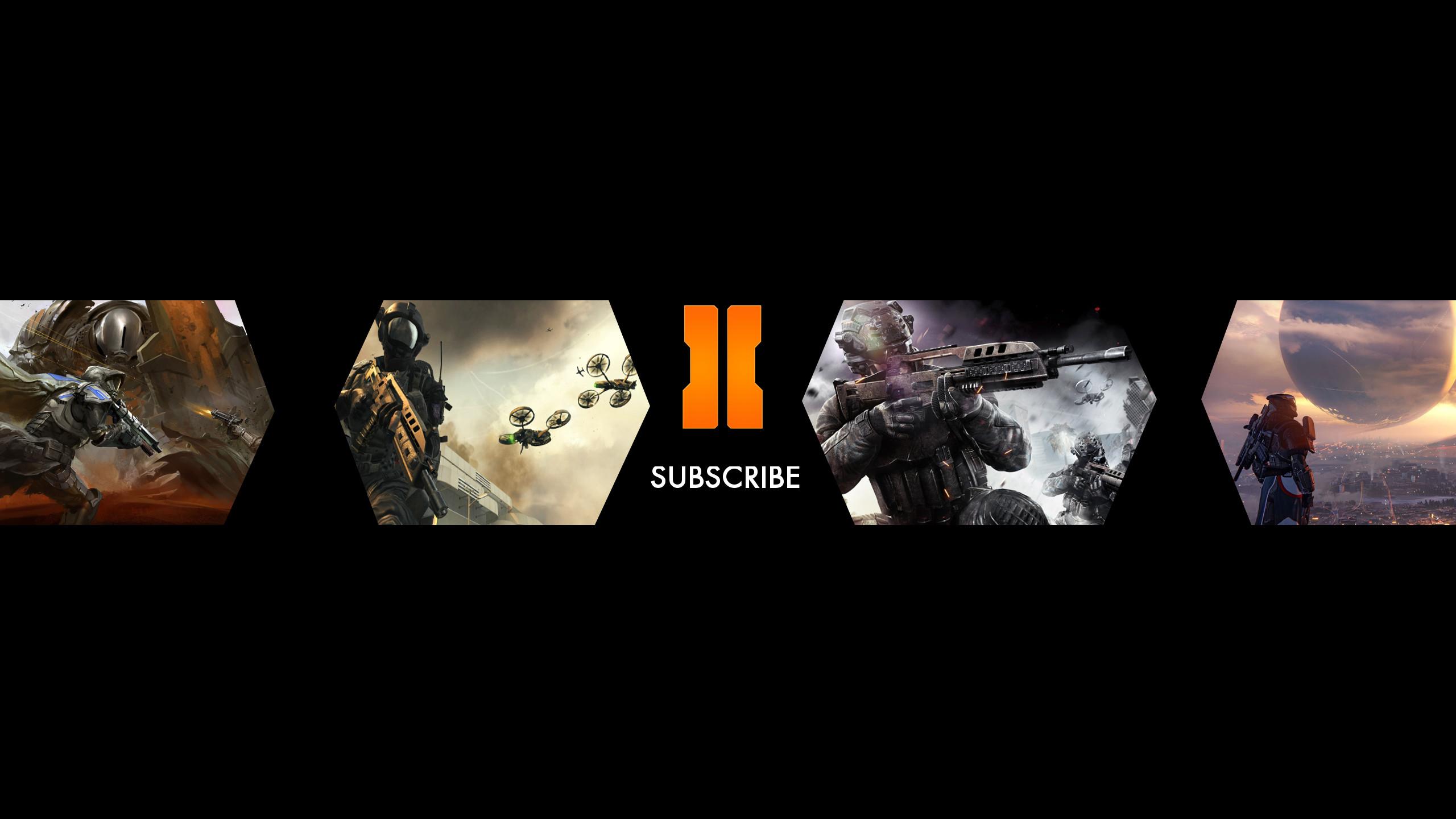 Black Ops 3 YouTube Channel Art