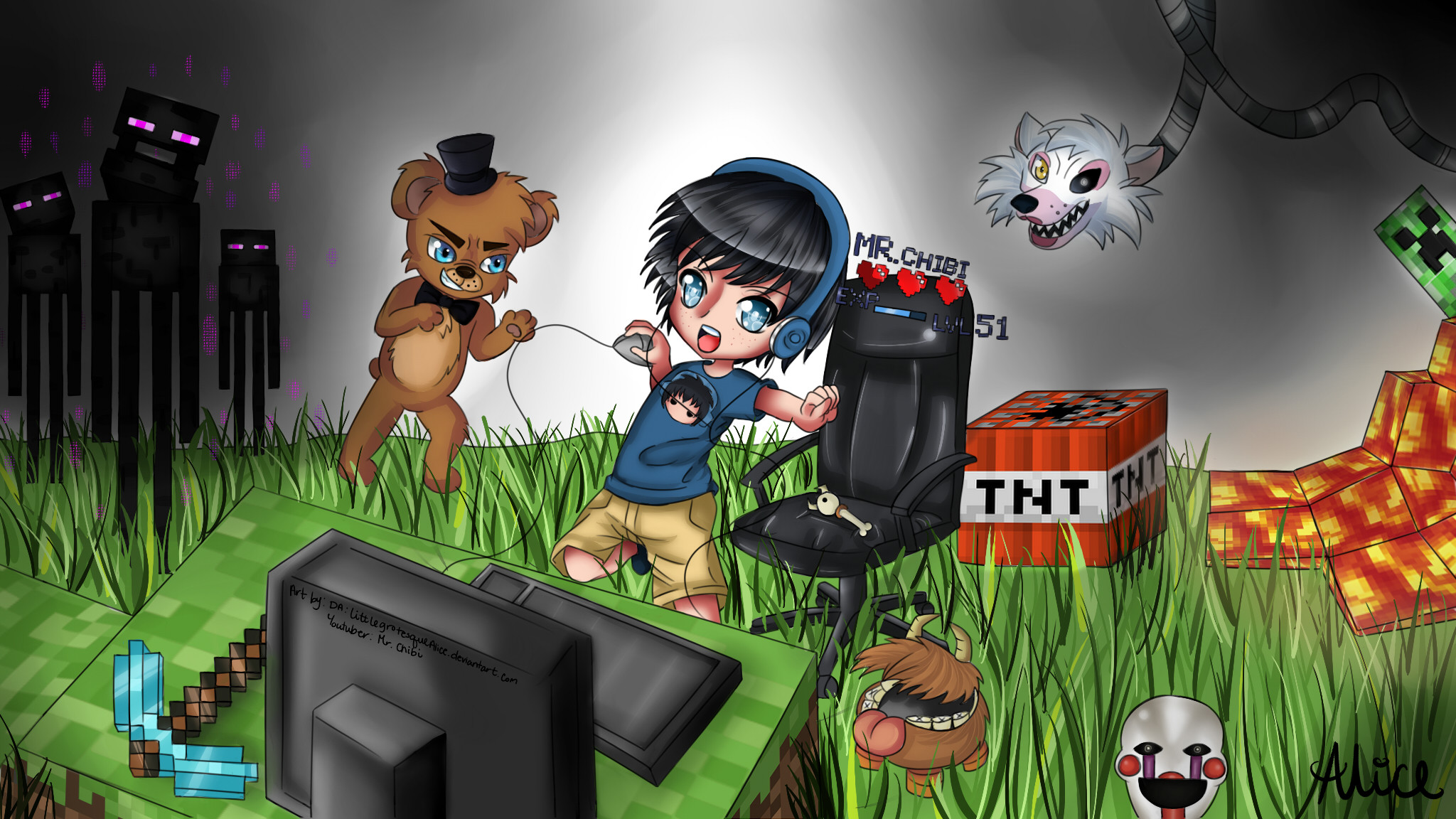 Minecraft YouTube Channel Art Free Professional YouTube