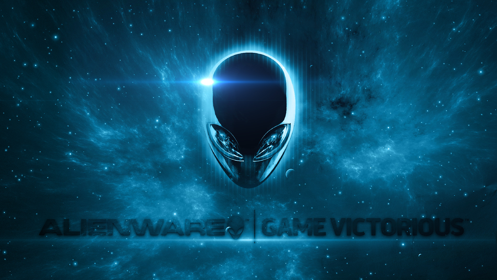Space Alienware Wallpaper