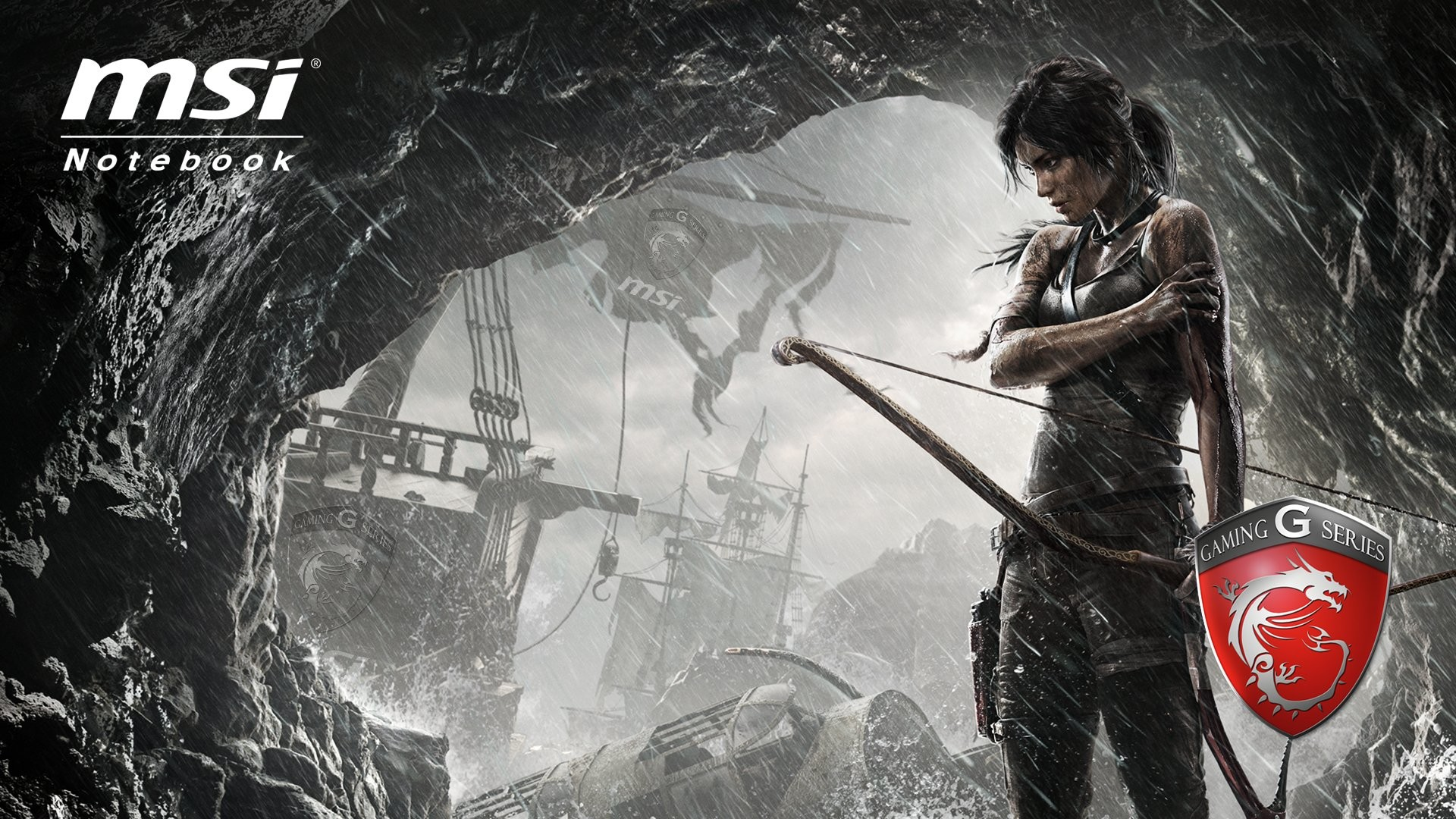 Technology – MSI Computer Tomb Raider Wallpaper